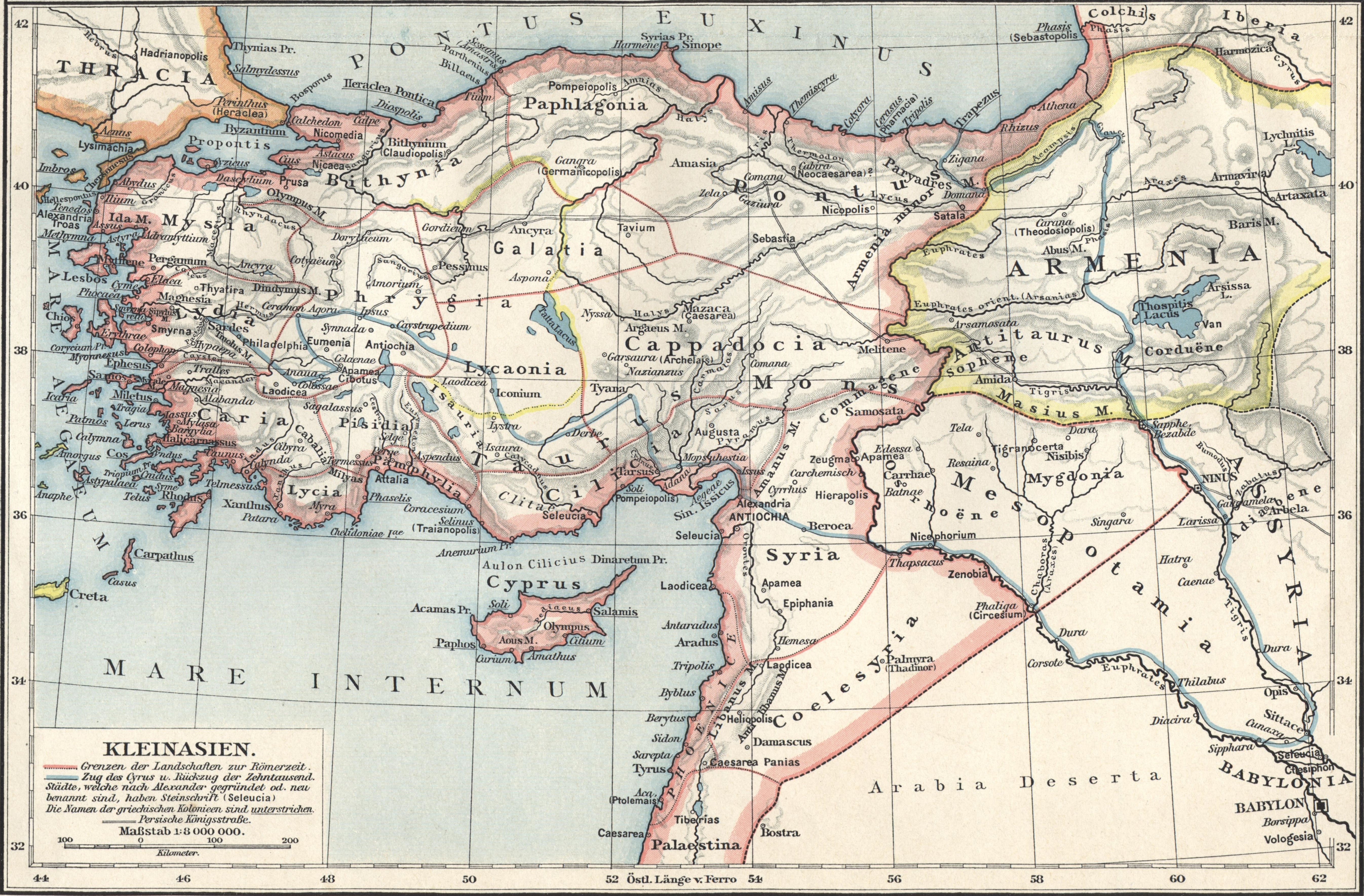 Karte Türkei Kappadokien.Kappadokien Wikipedia