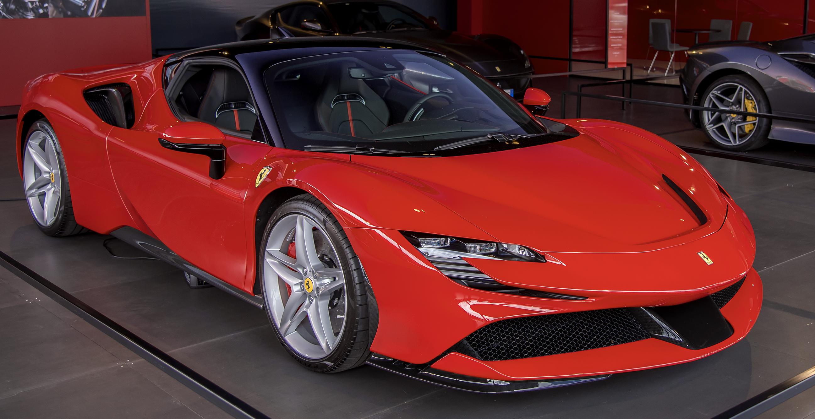 Ferrari Sf90 Stradale Wikipedia