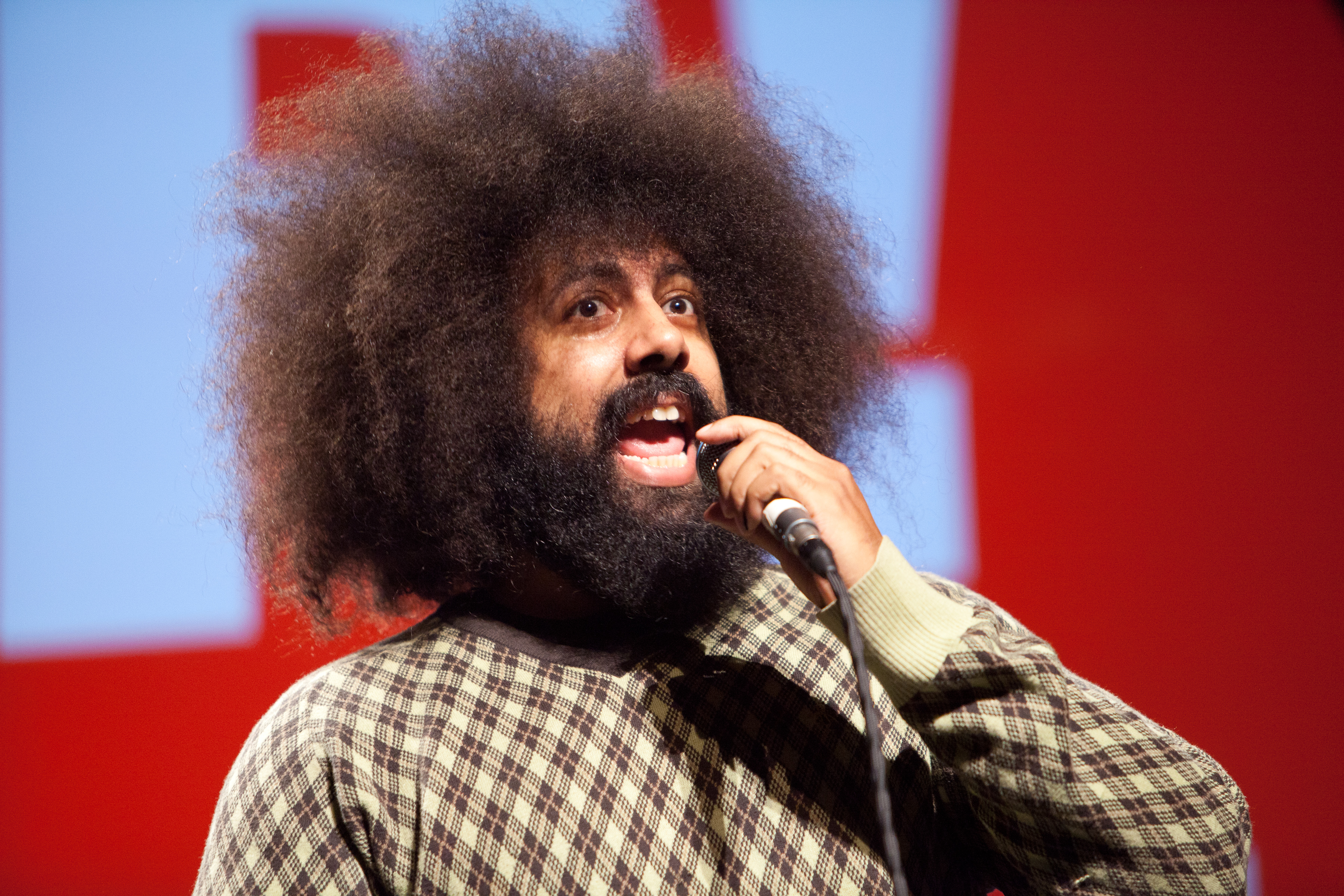 Portrait of Reggie Watts