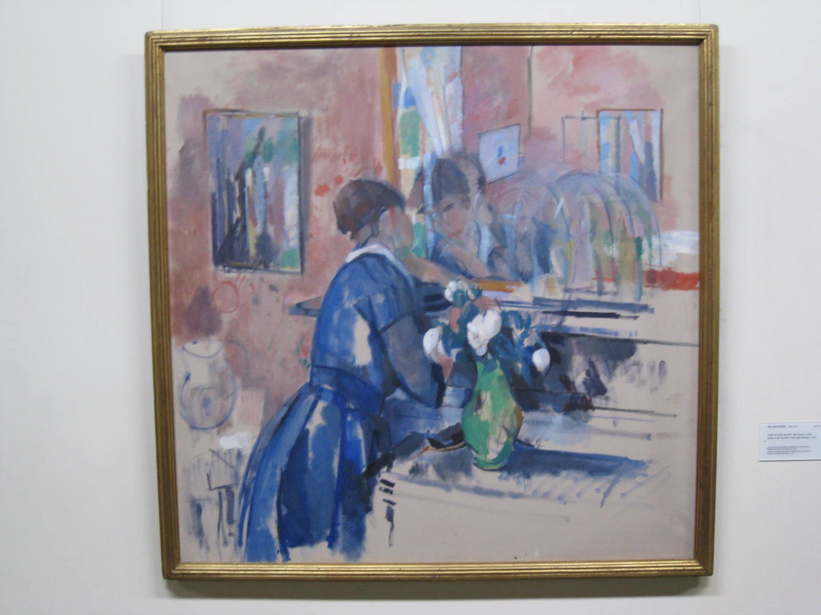 File rik wouters 1 jpg wikimedia commons for Devant le miroir