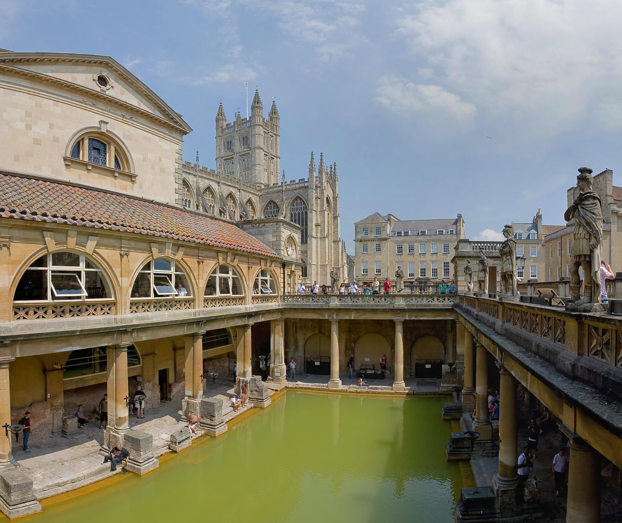 File Roman Baths In Bath Spa England July 2006 Wikipedia