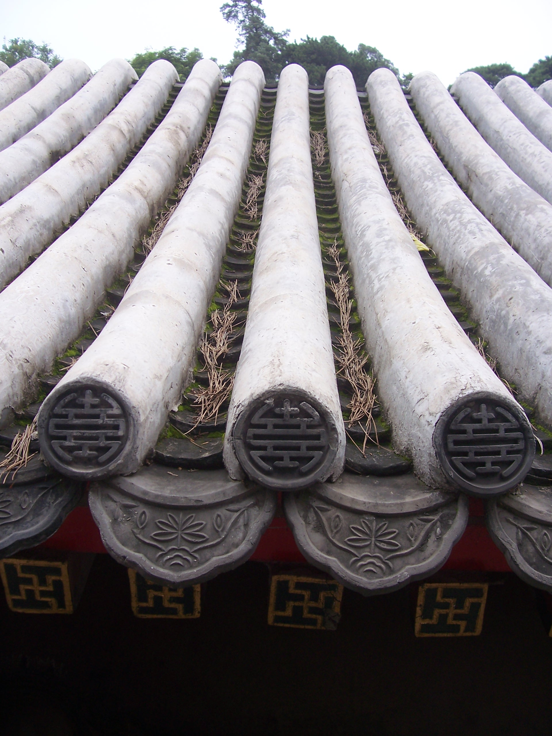 File roof tiles in china summer palace jpg wikimedia commons for Decoration jardin chinois