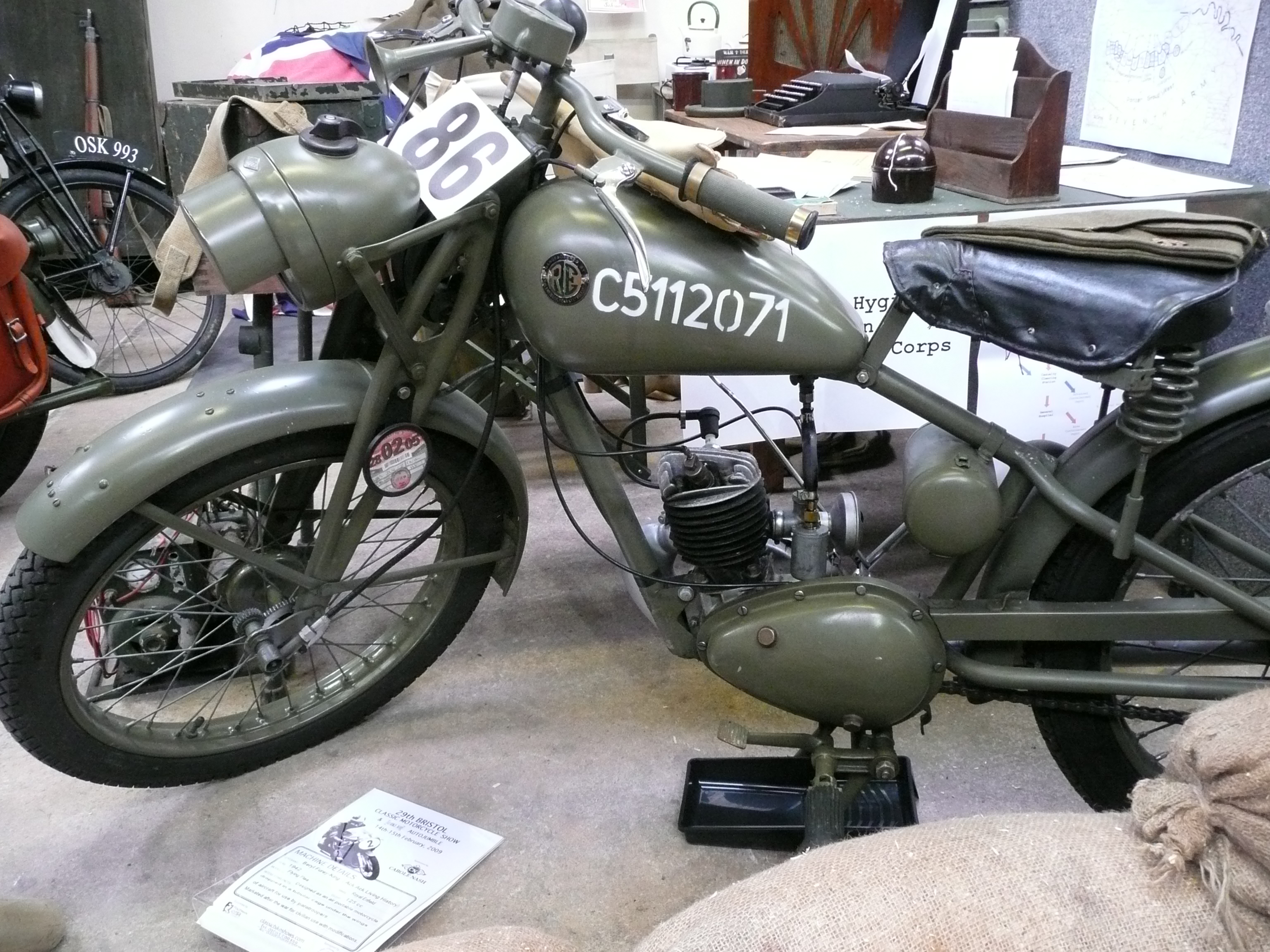 Centre Stand with Springs Royal Enfield Bullet Standard
