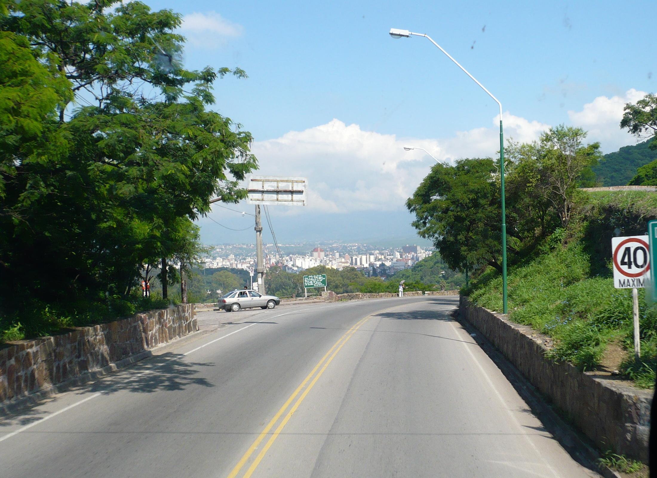 ATENCIÓN| Hay un nuevo recorrido para acceder al cerro San Bernardo
