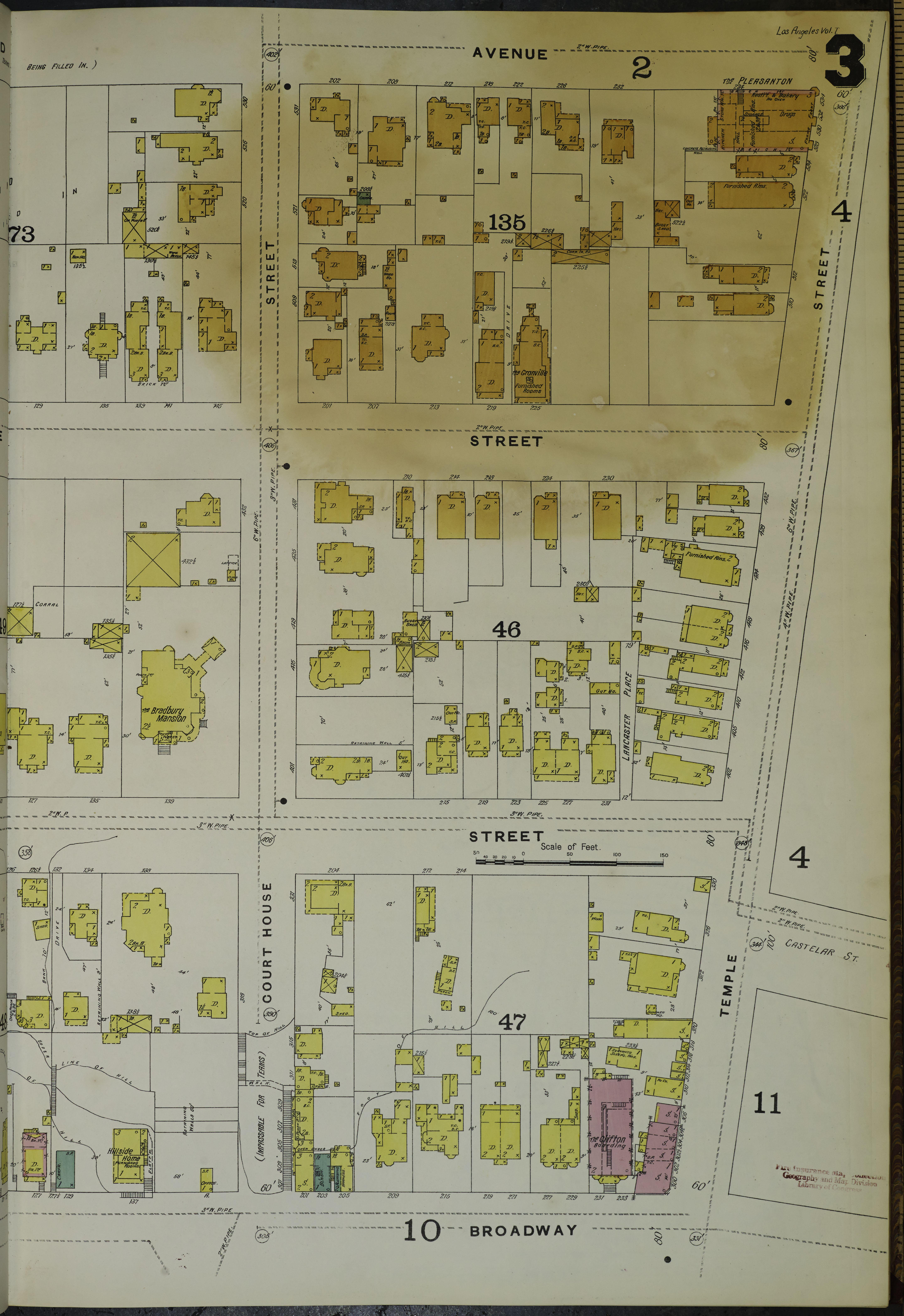 los angeles county map pdf