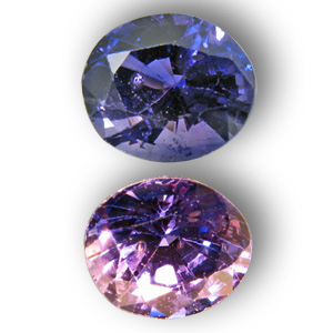 Sapphire colourchanging 1.40cts