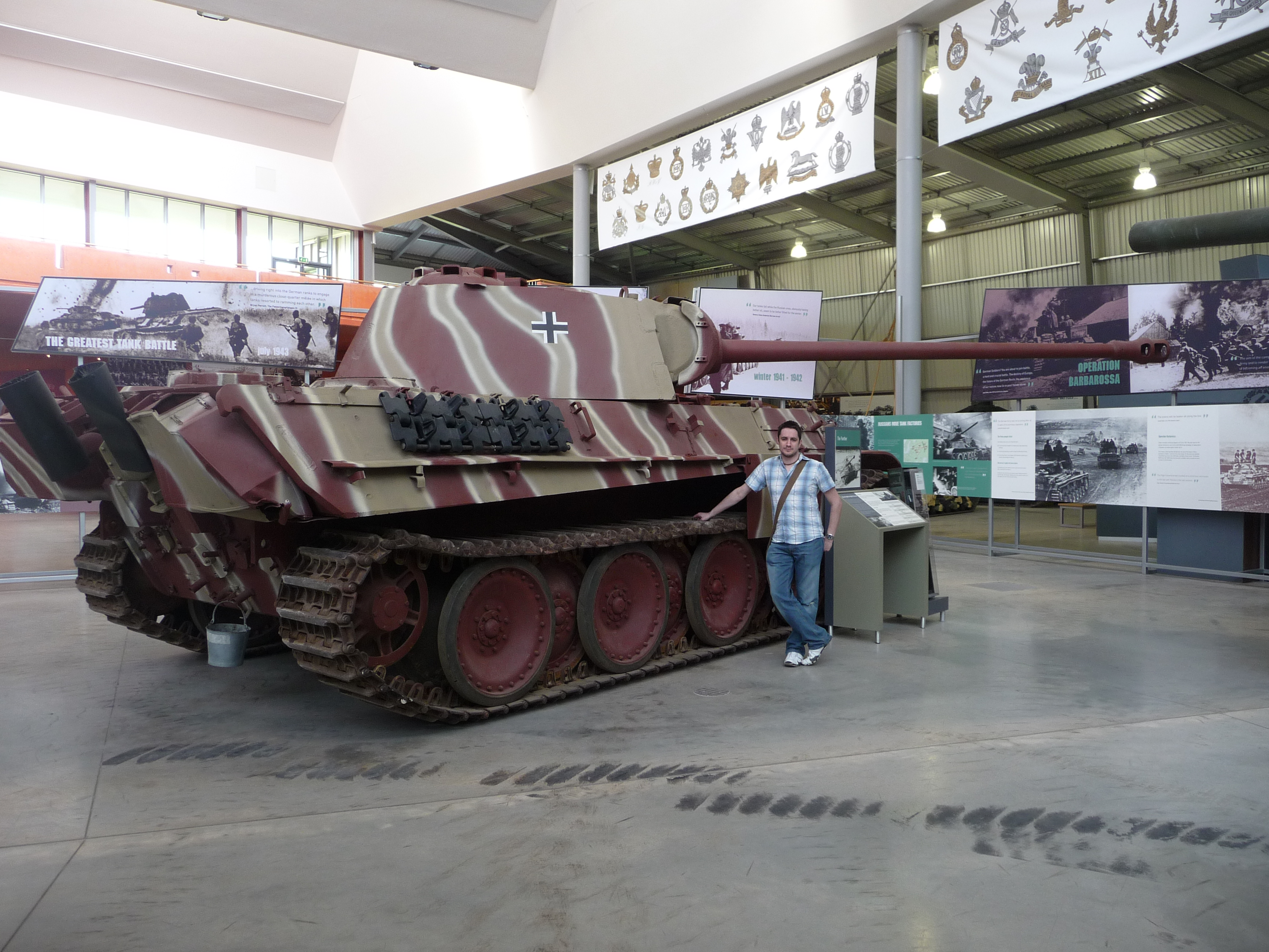 Description sd kfz 171 panzerkampfwagen v ausf g panther 4536213911