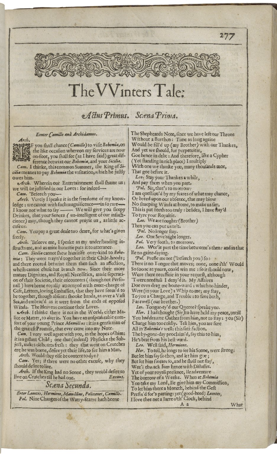 File:Second Folio Title Page of The Winter's Tale.jpg