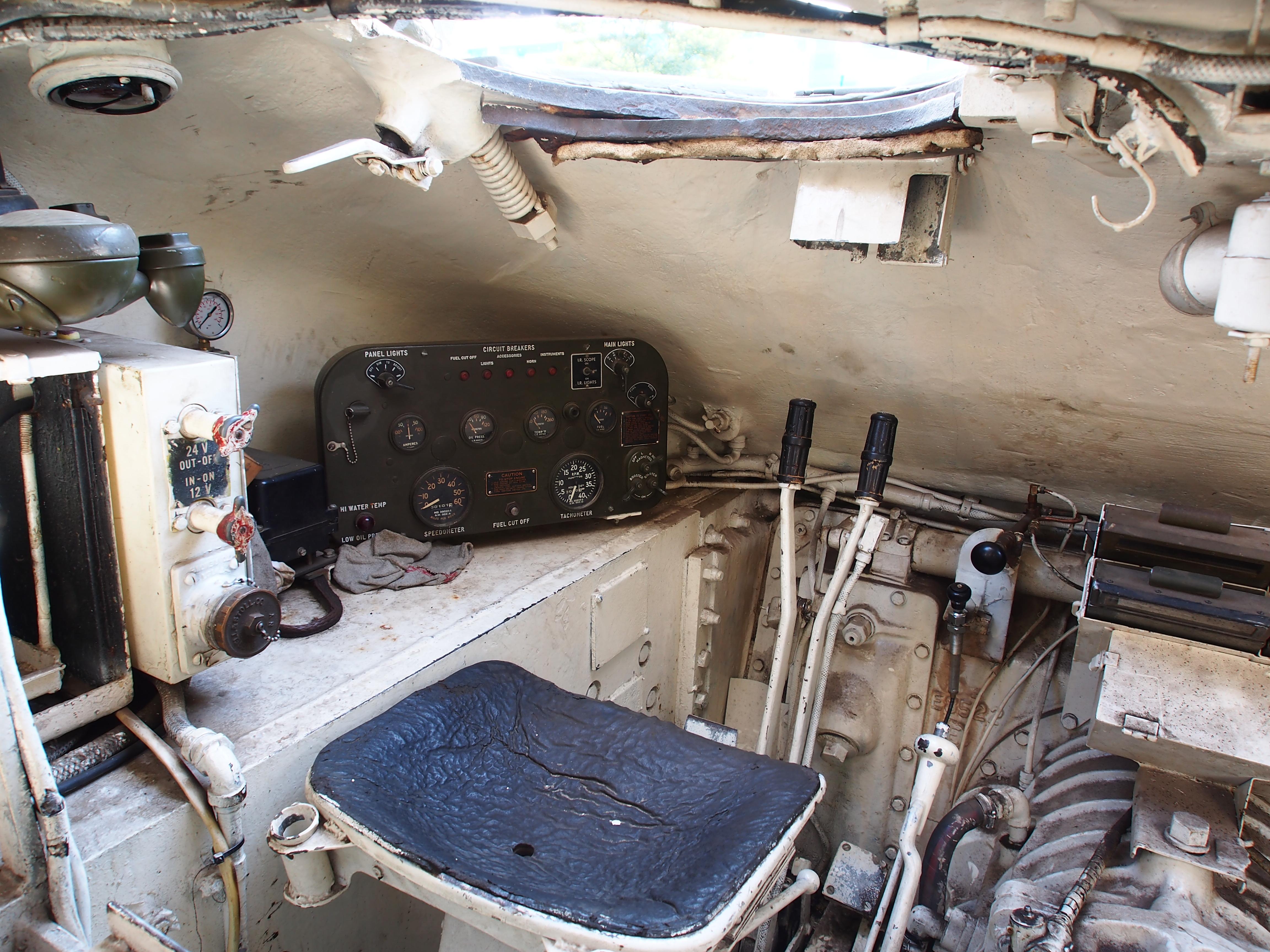 M4 Sherman driver's seat