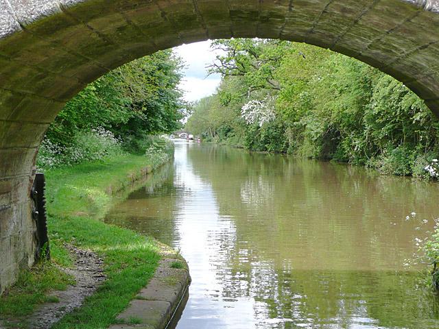 Shropshire Union Canal near Cheswardine, Shropshire - geograph.org.uk - 1589024