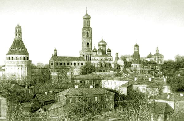 Симонов монастырь, 1882 год