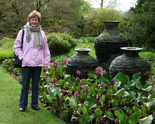 File Slate Urns Threave Gardens Castle Douglas