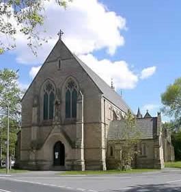 St Chrysostoms Church, Victoria Park Church in Manchester, England