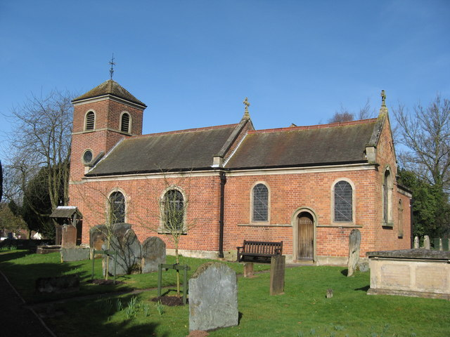 Photo of St Peters Church Broome, Worcestershire