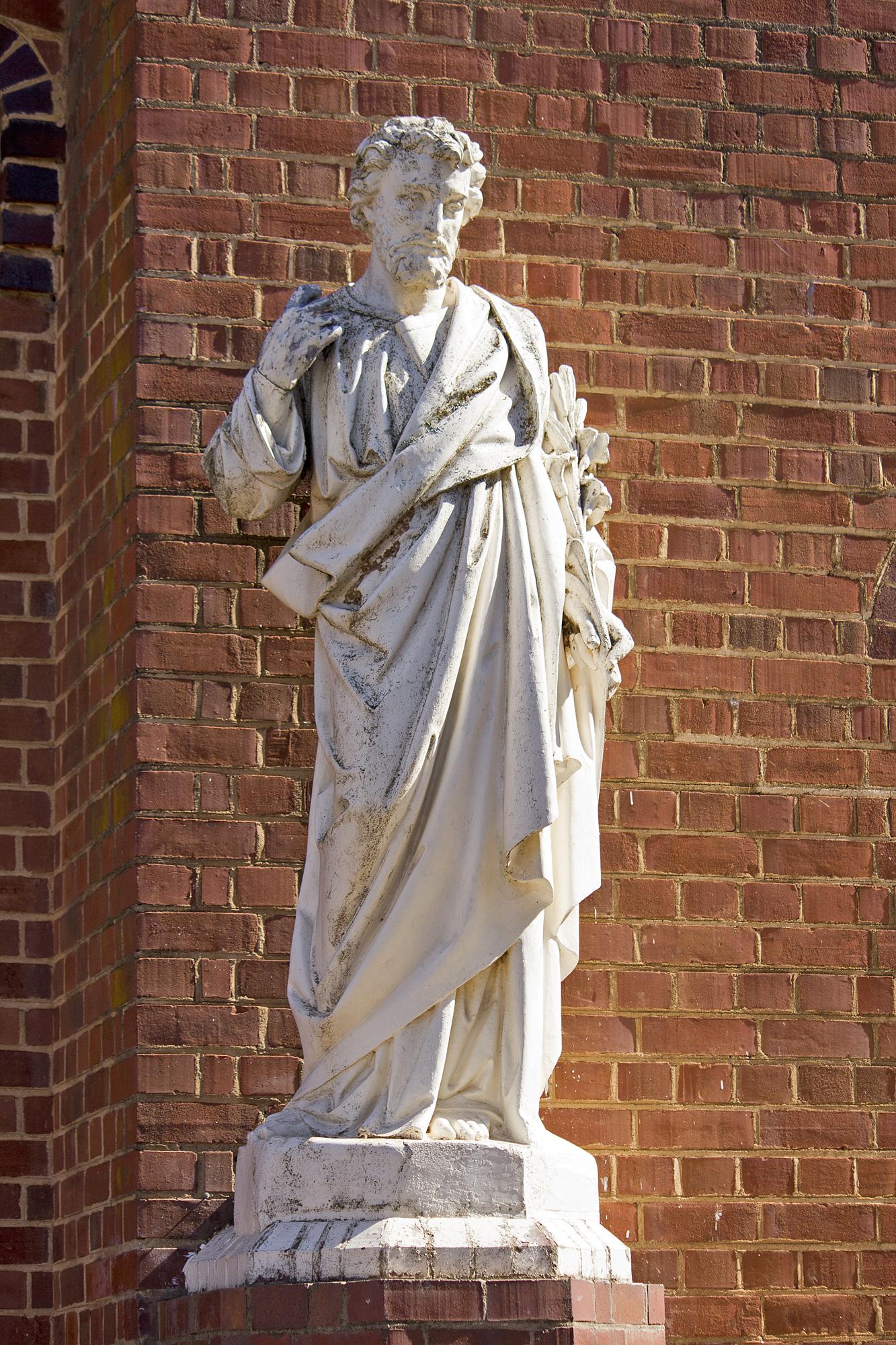 File Statue Of Saint Joseph At St Joseph 39 S Roman Catholic