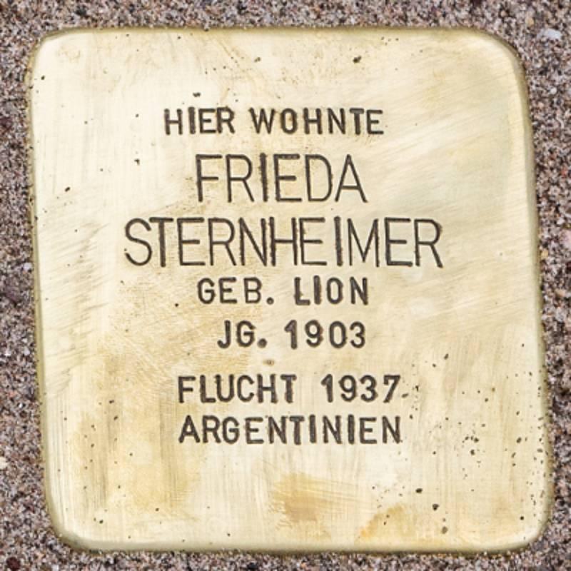 Stolperstein für Frieda Sternheimer