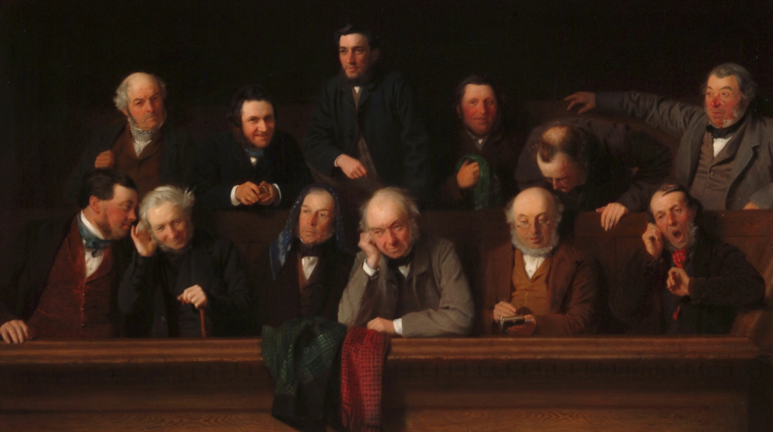 John Morgan, The Jury, 1861