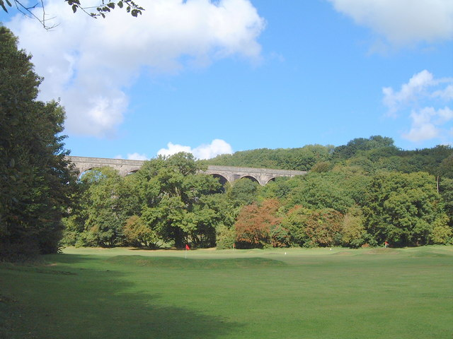 The pitch and putt golf course at Porthkerry - geograph.org.uk - 484231