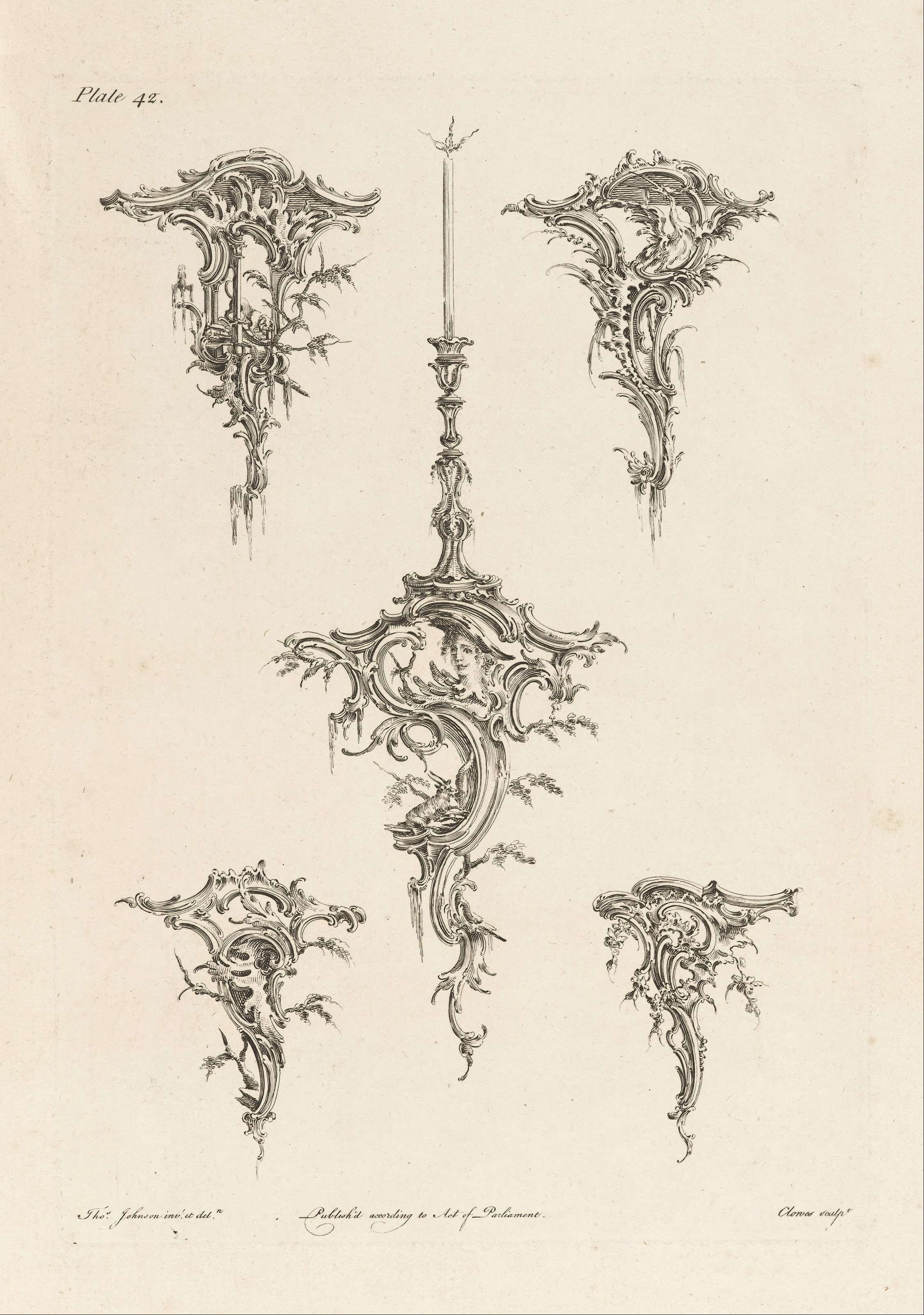 Art Design : File thomas johnson design for wall brackets plate