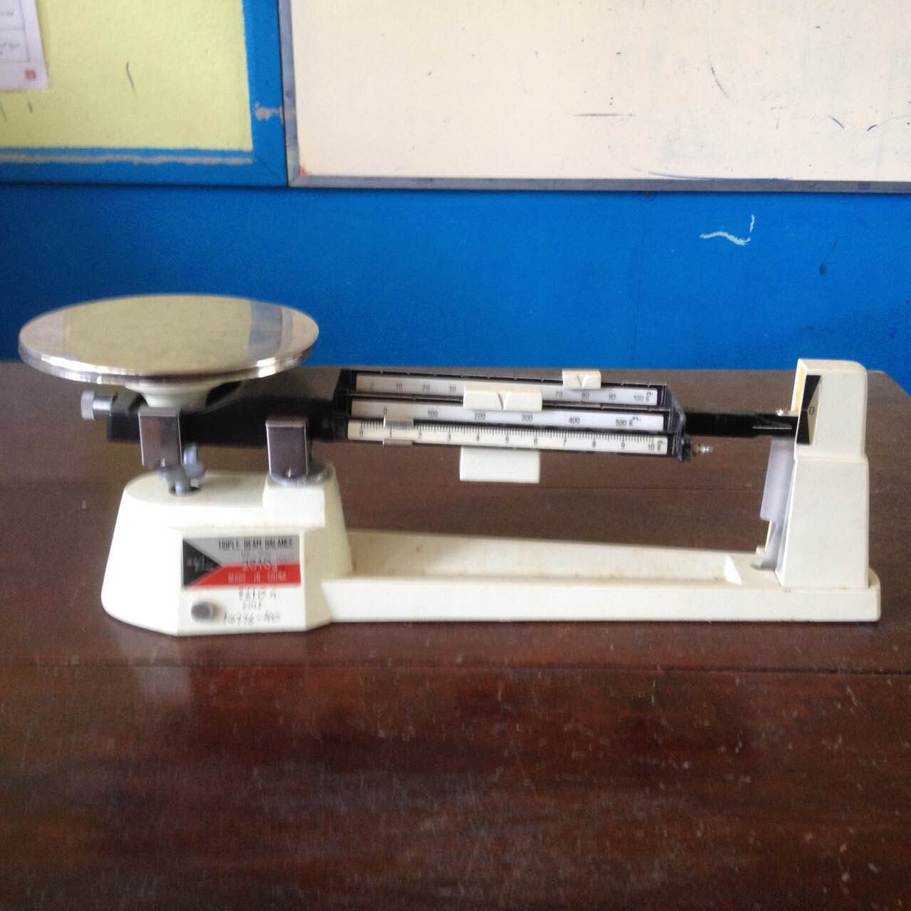 triple beam balance wikipedia