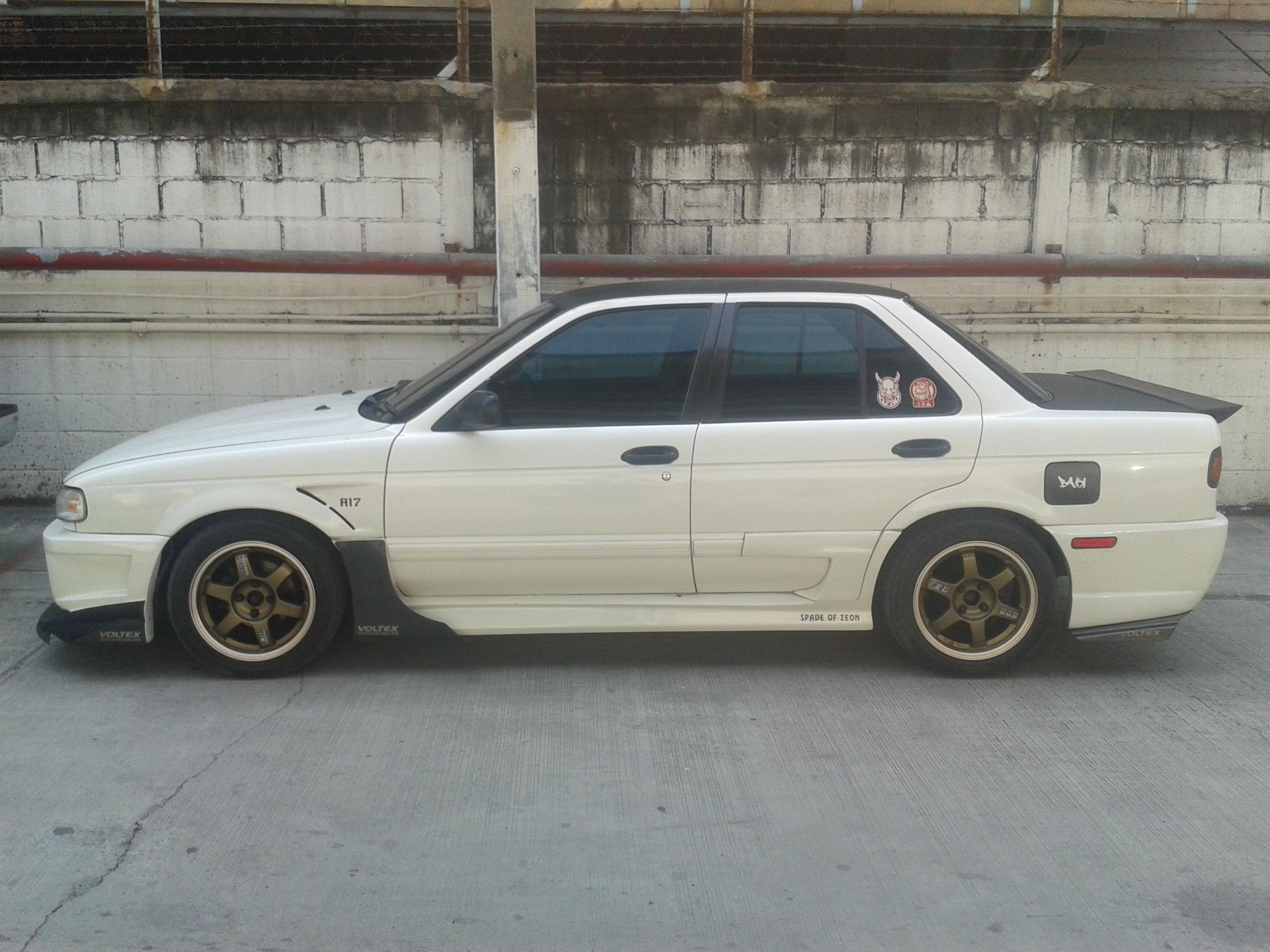 File:Tuned Nissan Sentra (B13) in Thailand 06 jpg