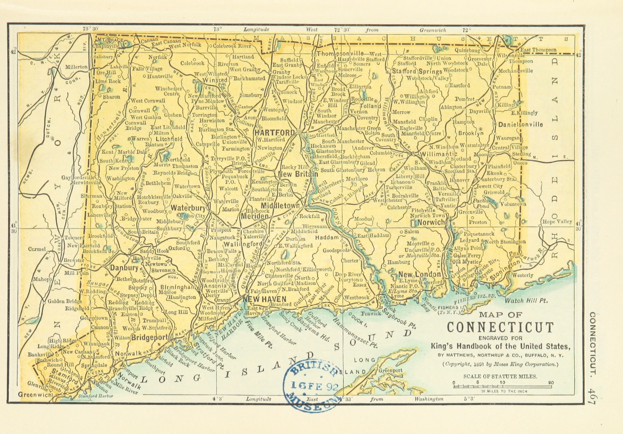 File:US-MAPS(1891) p469 - MAP OF CONNECTICUT.jpg - Wikimedia Commons