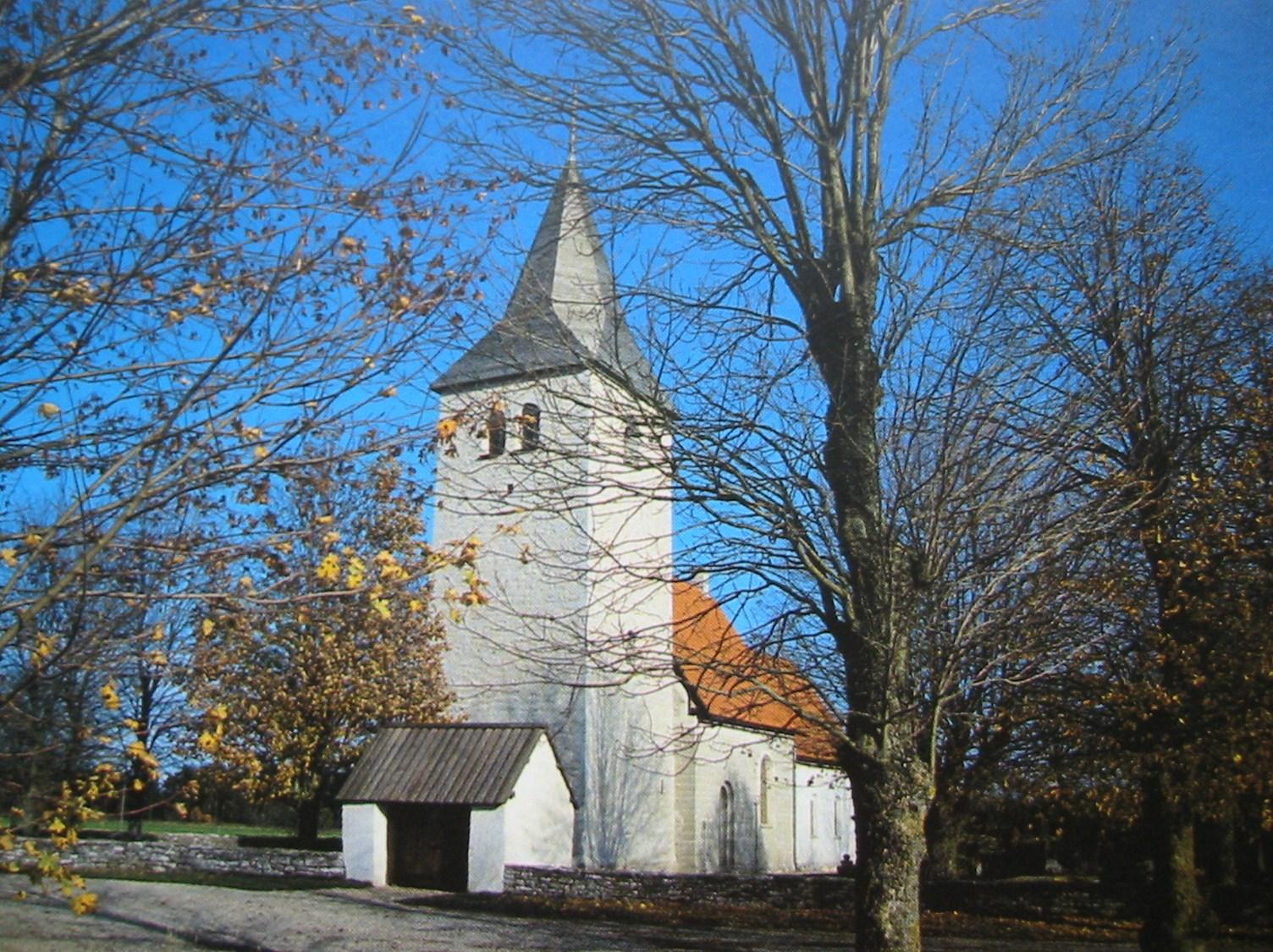 Bild av Viklau kyrka