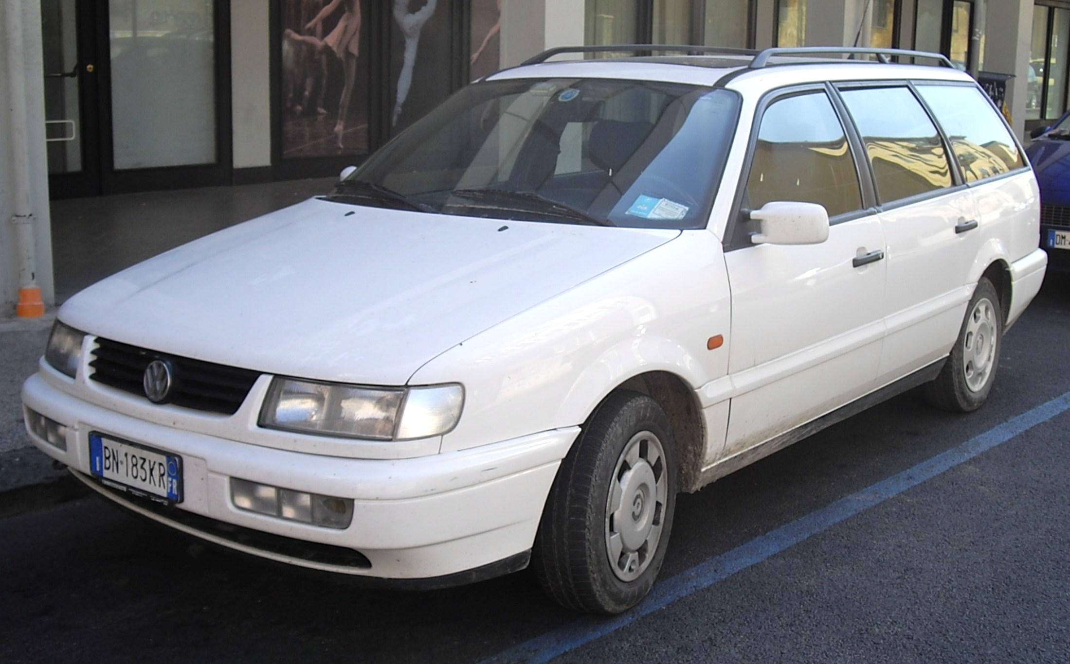 видео обзор volkswagen passat b4 variant
