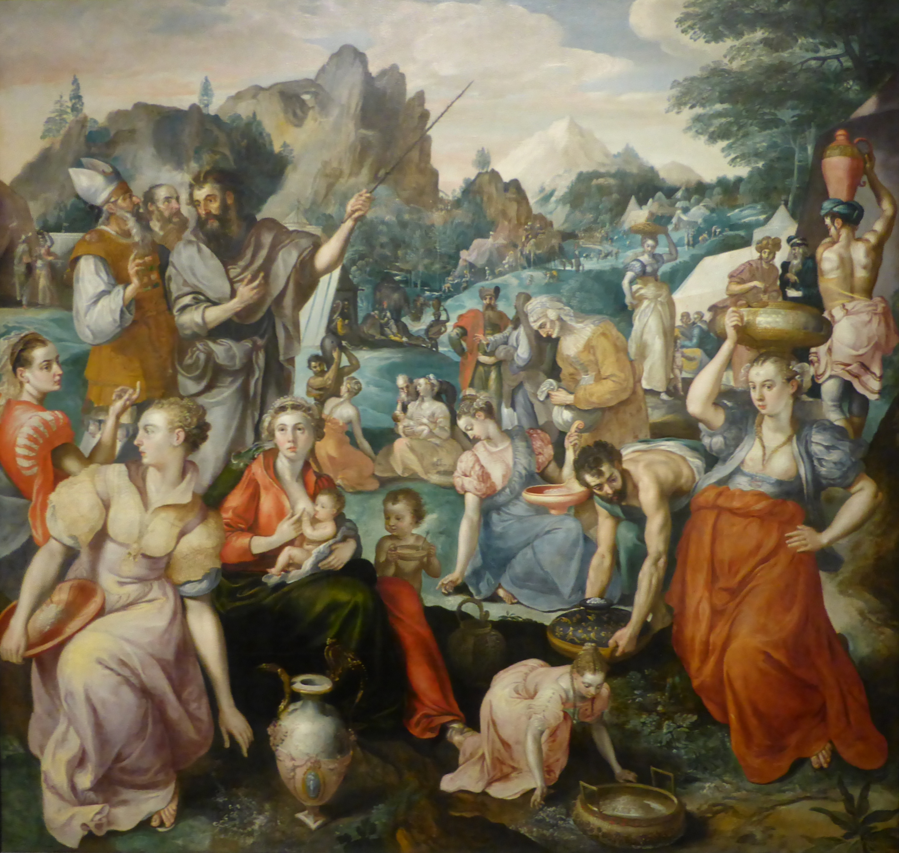 Famous Painting Of The Feeding Of  Thousand