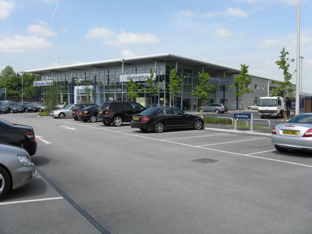 File warrington mercedes benz dealer m6 junction 21 for Mercedes benz dealer in md