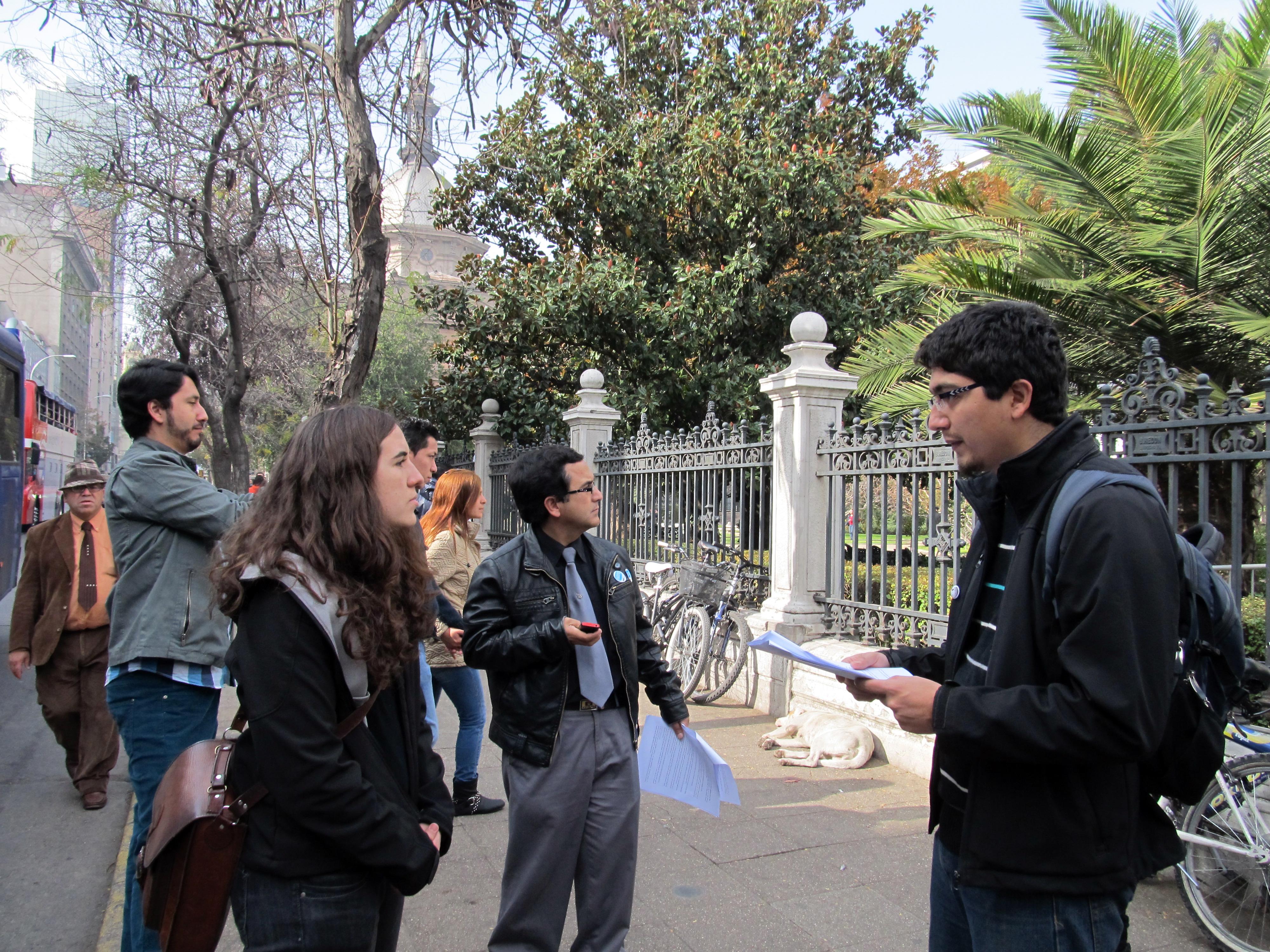Participación en Wiki Takes Santiago / Autor: Warko