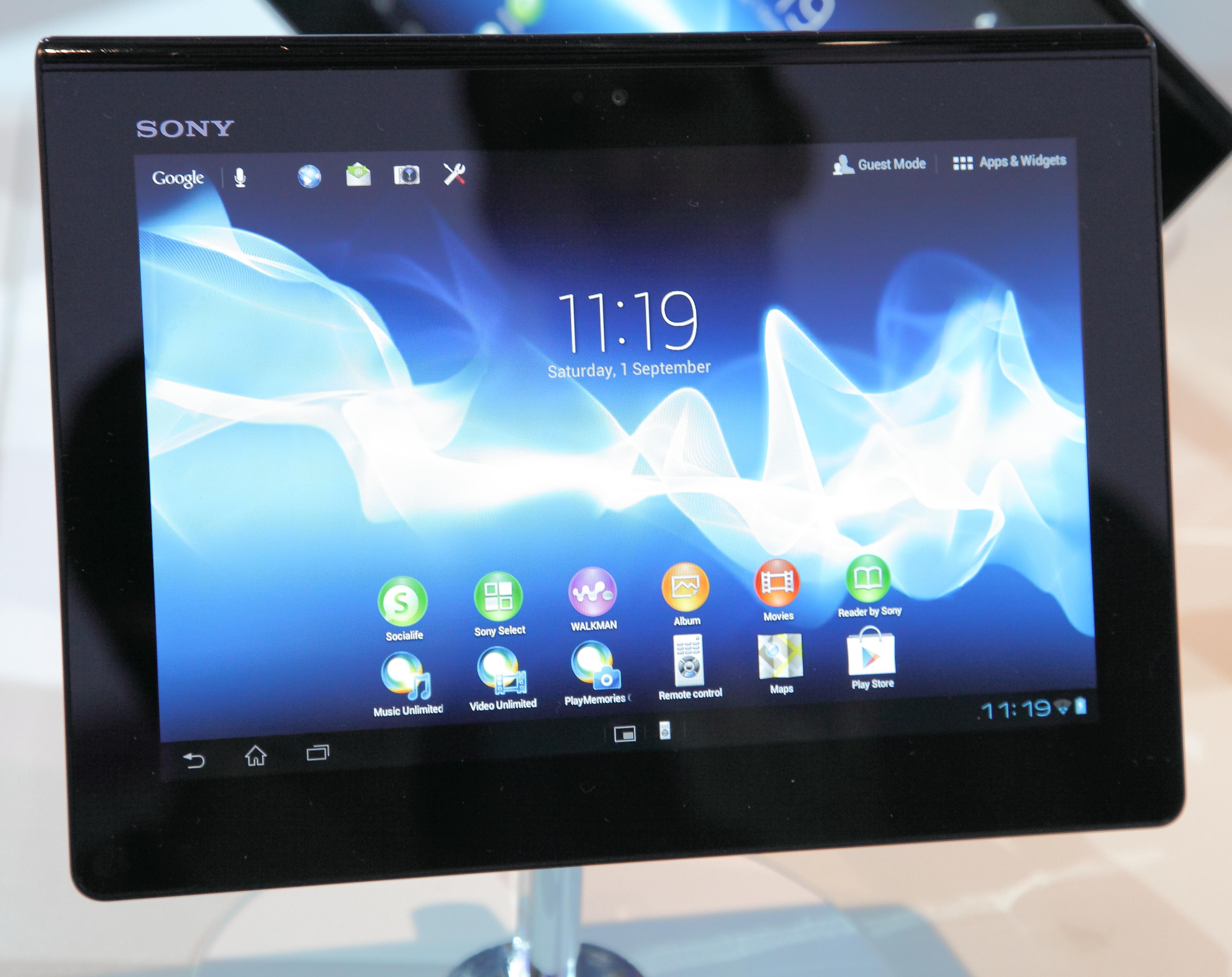 xperia z4 tablet 更新