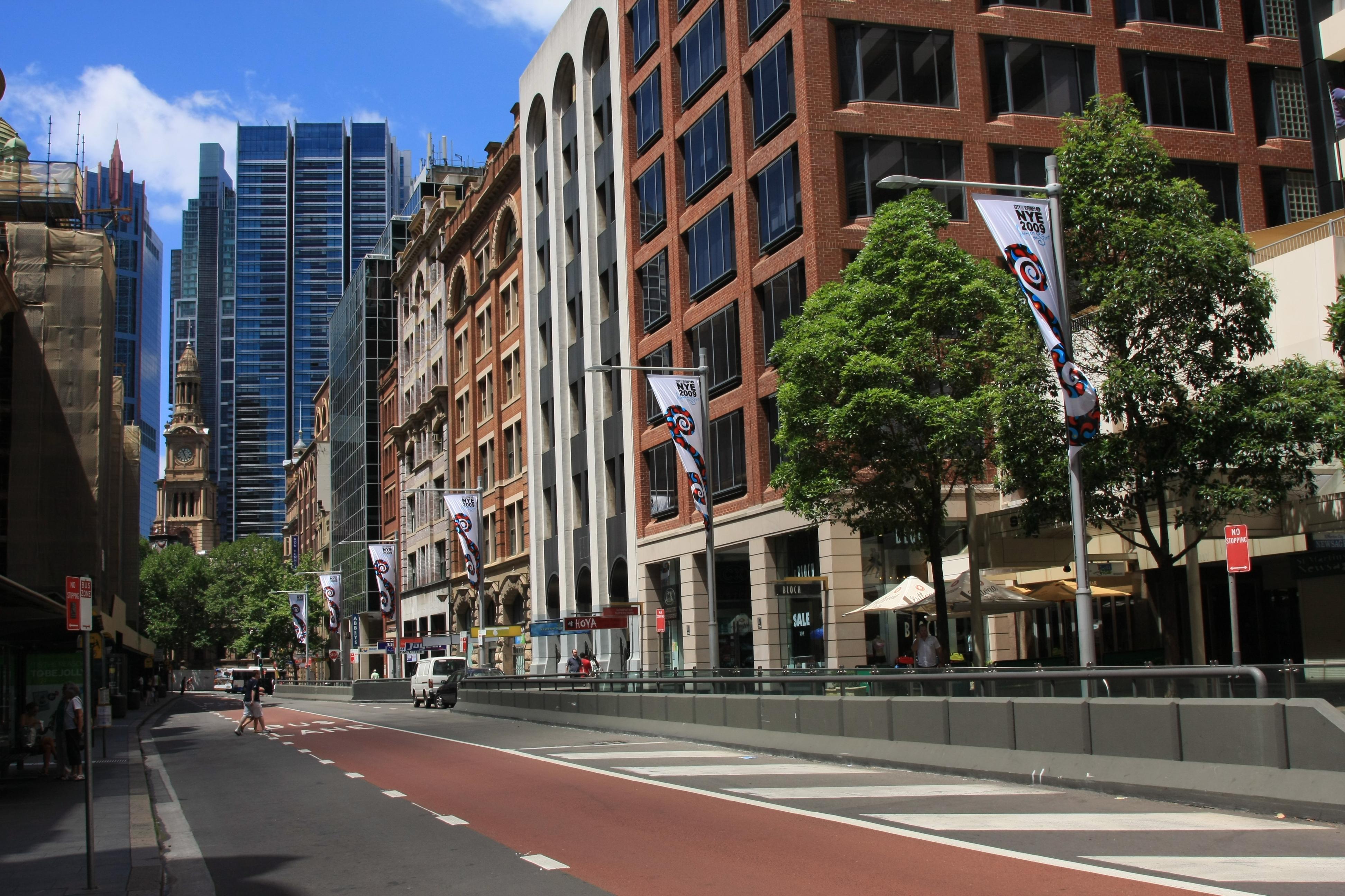 Cafe George Street Sydney