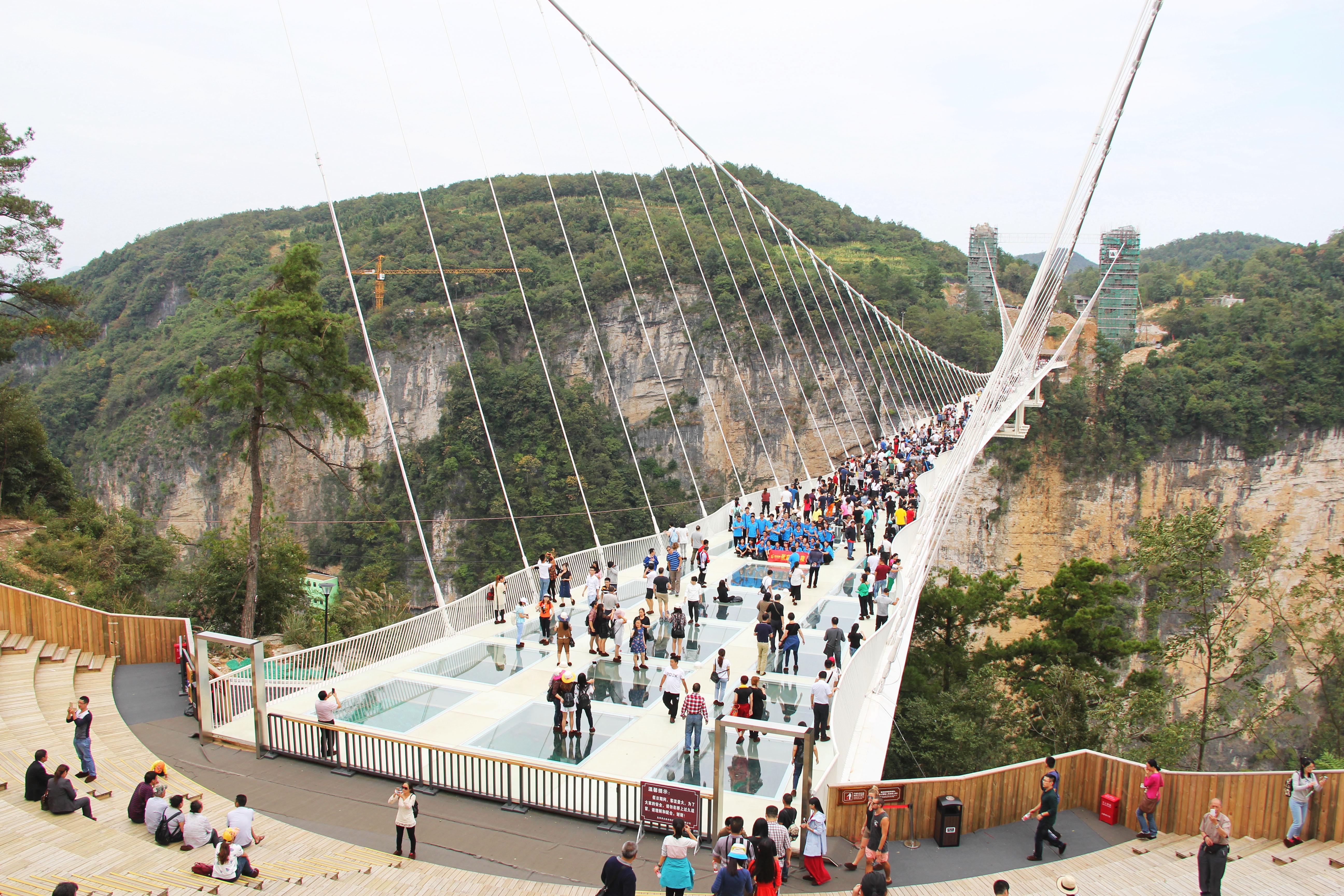 Zhangjiajie Glass Bridge Wikipedia