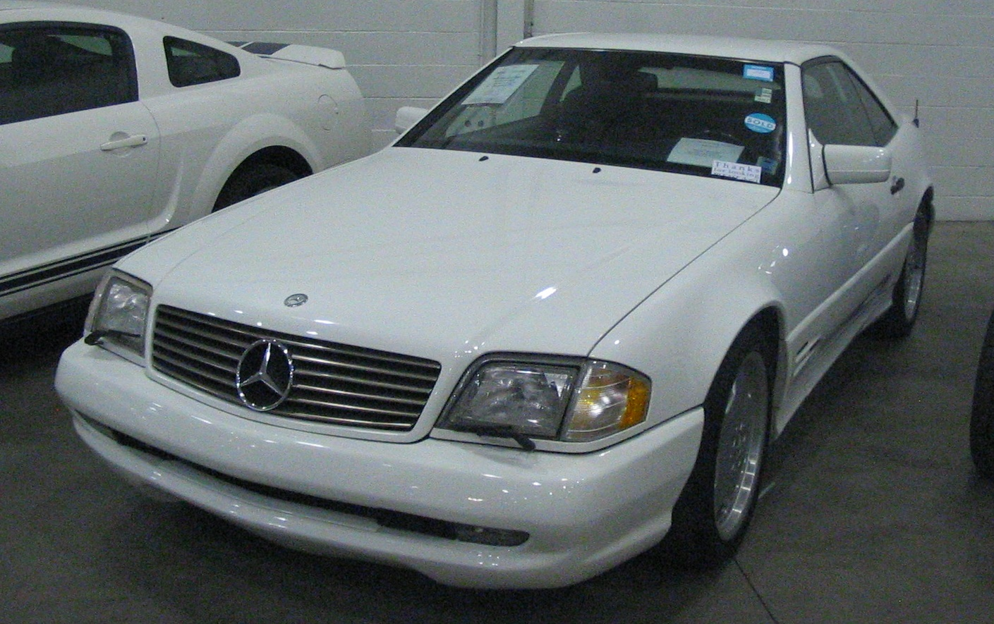 File:'97 Mercedes-Benz SL500 (Toronto Spring '12 Classic Car Auction