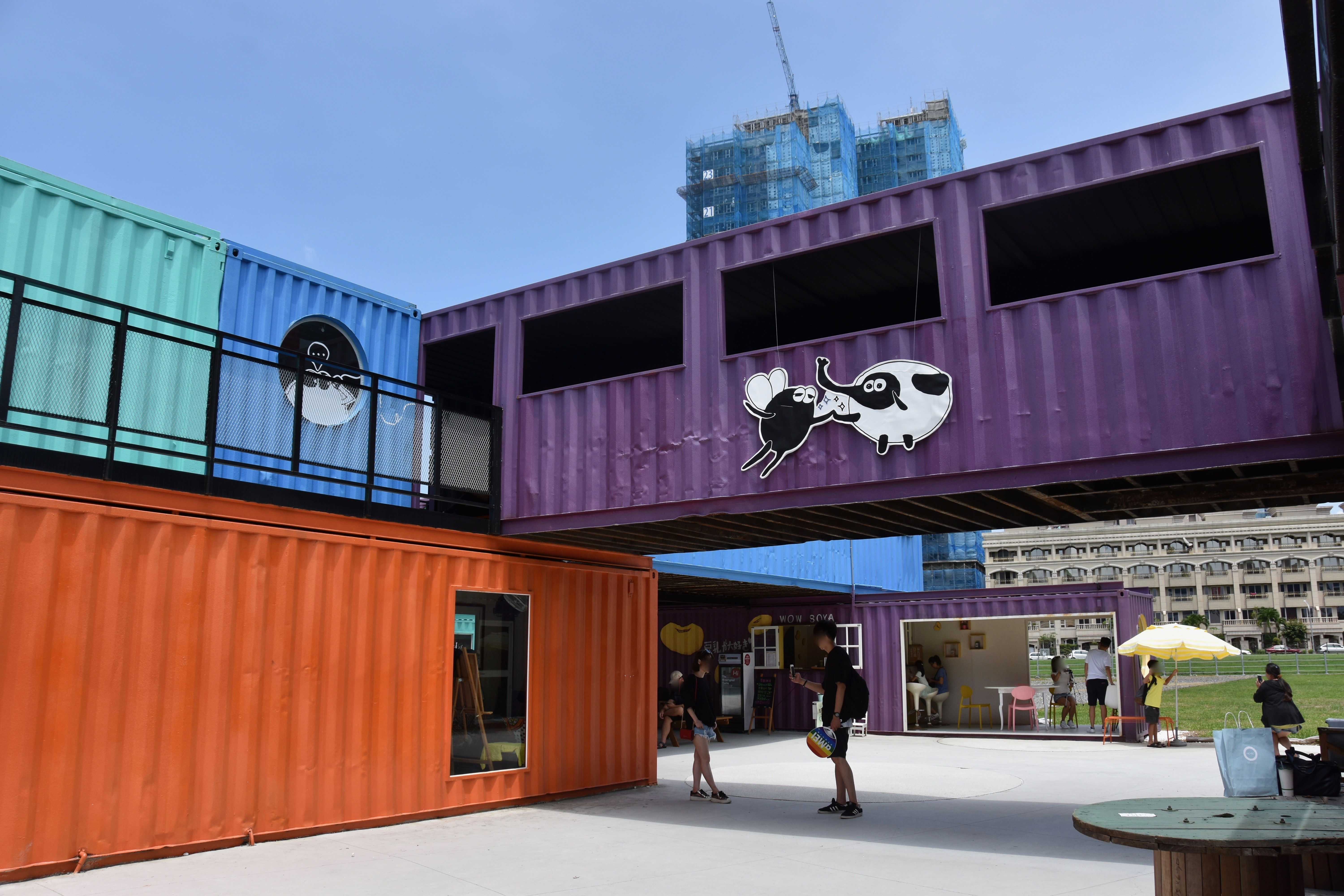 Things to do in Kaohsiung: Visit KUBIC container park