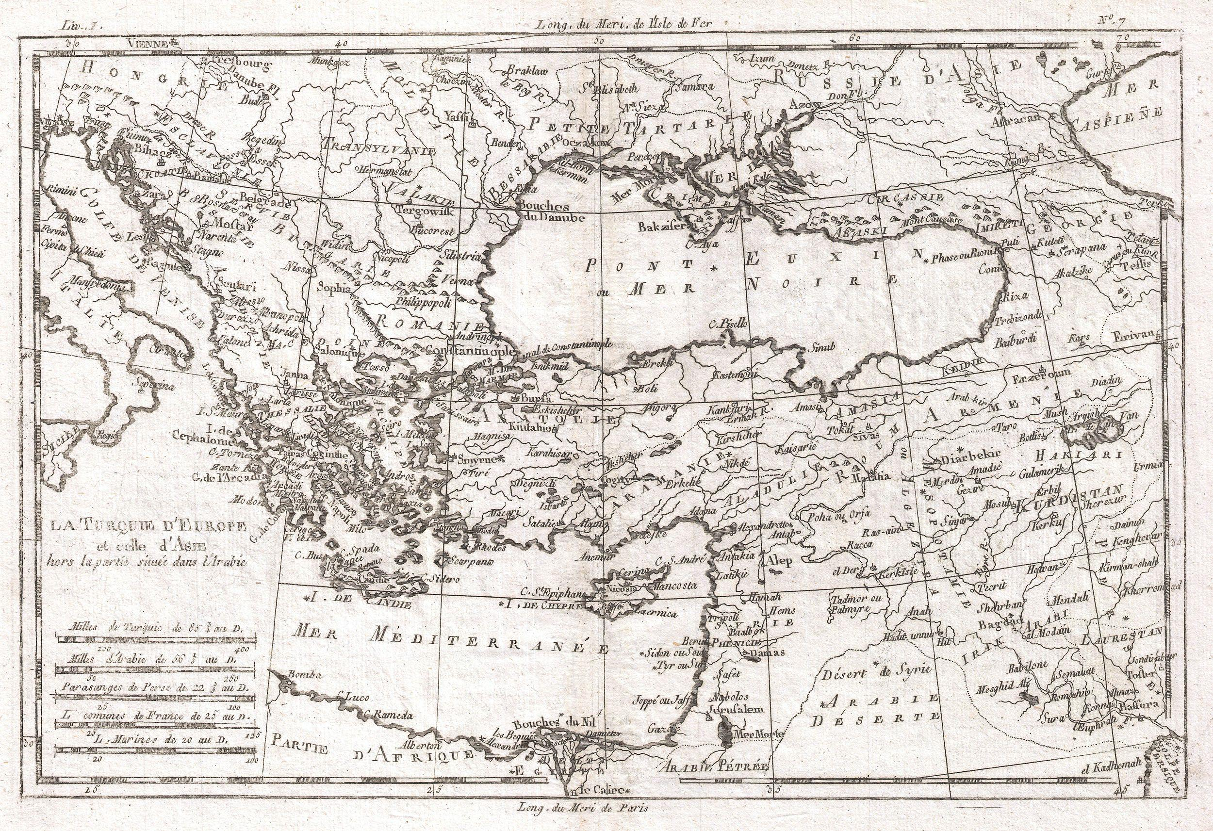 File:1780 Raynal and Bonne Map of Turkey in Europe and Asia
