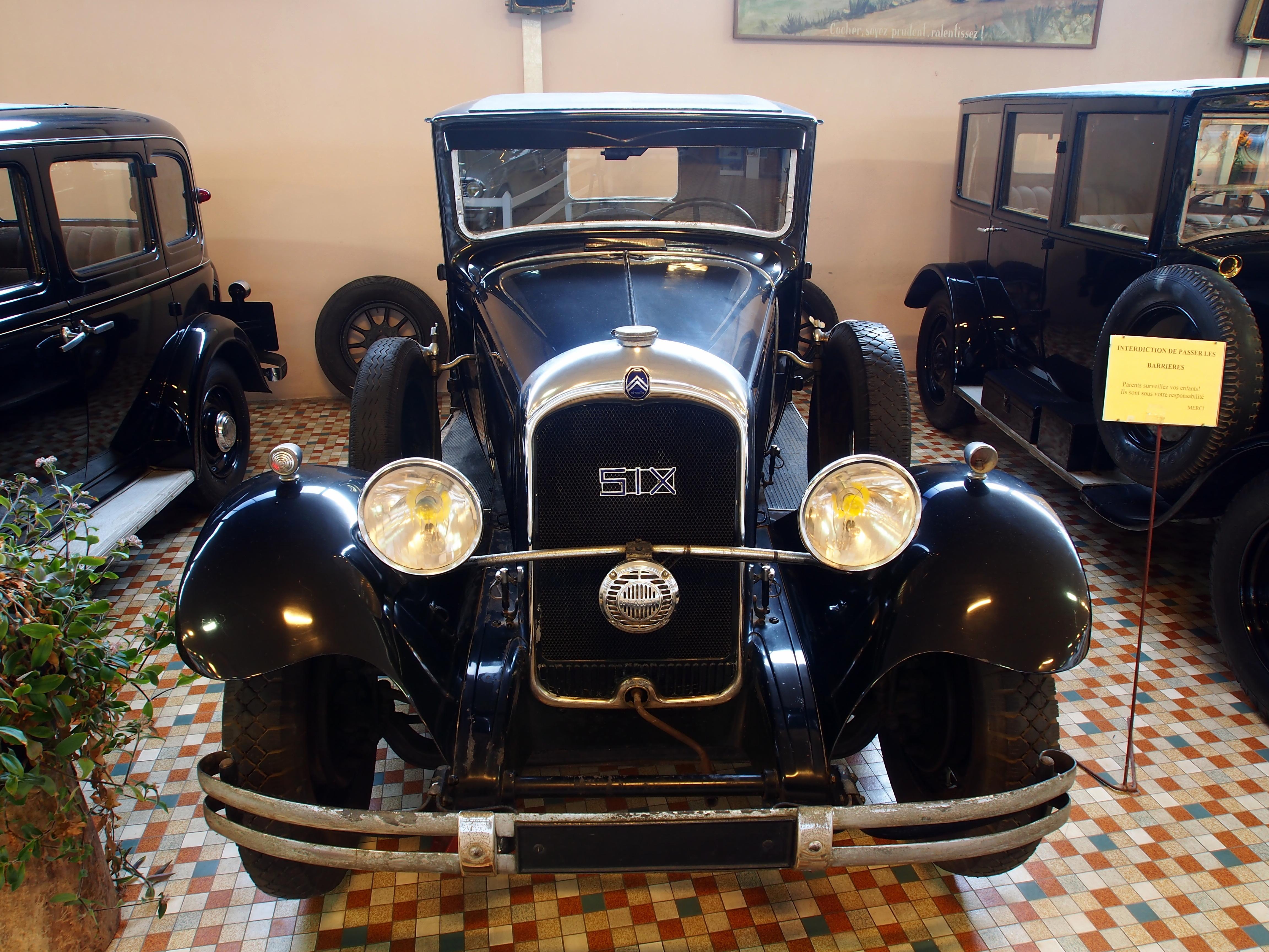file 1931 citro n c6f 14cv at the mus e automobile de vend e jpg wikimedia commons. Black Bedroom Furniture Sets. Home Design Ideas