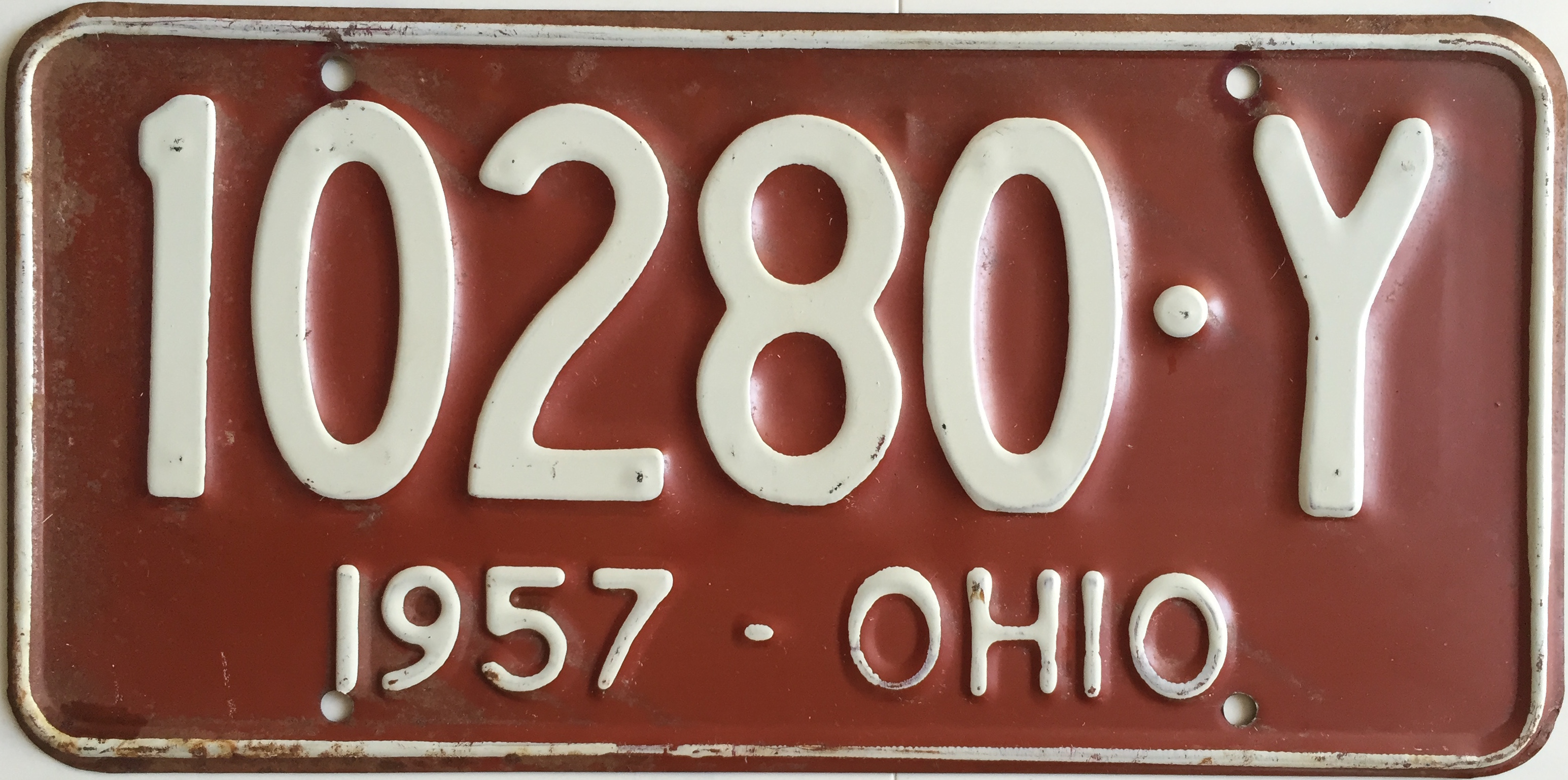 File:1957 Ohio license plate.JPG - Wikimedia Commons