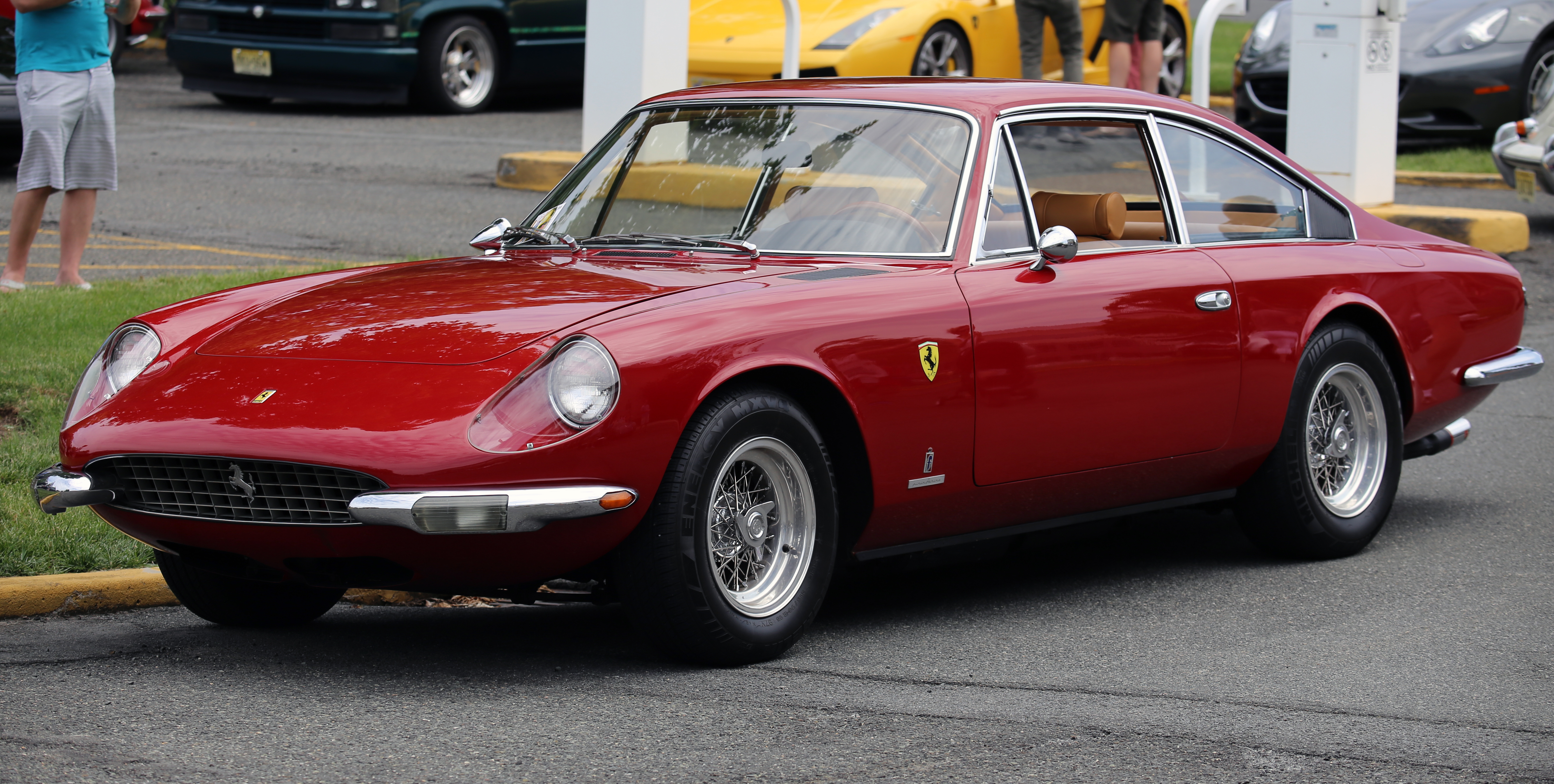 File 1968 Ferrari 365 Gt 2 2 Fl Jpg Wikimedia Commons