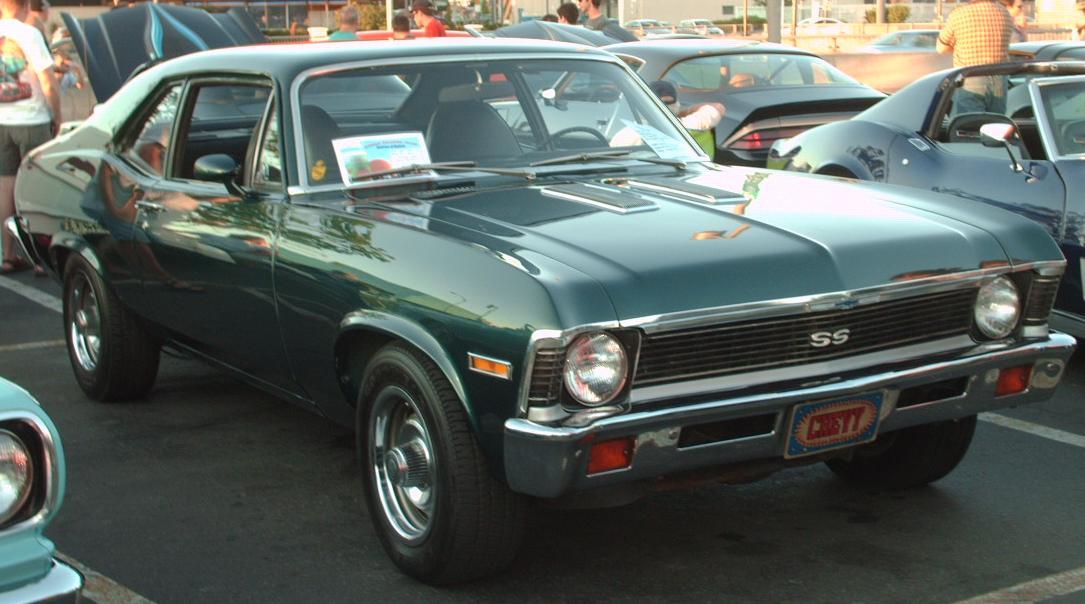 Chevrolet Nova SS: 2 фото.