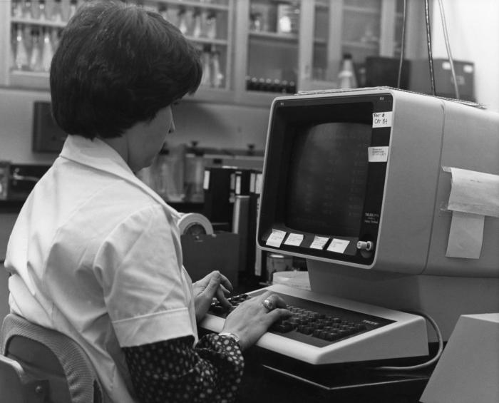 1980s Computer worker - Centers for Disease Control