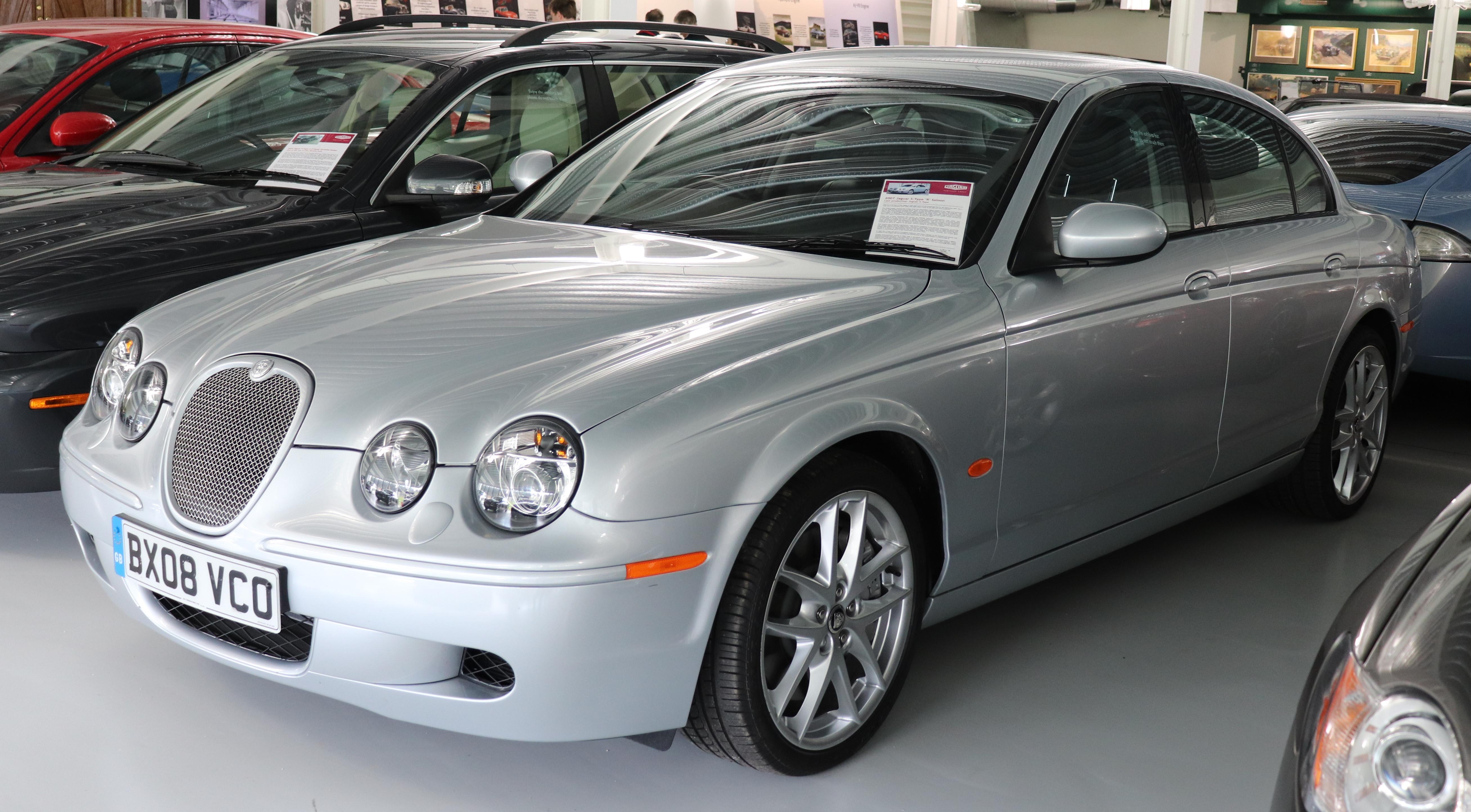 File:2007 Jaguar S-Type R 4.2.jpg - Wikimedia Commons