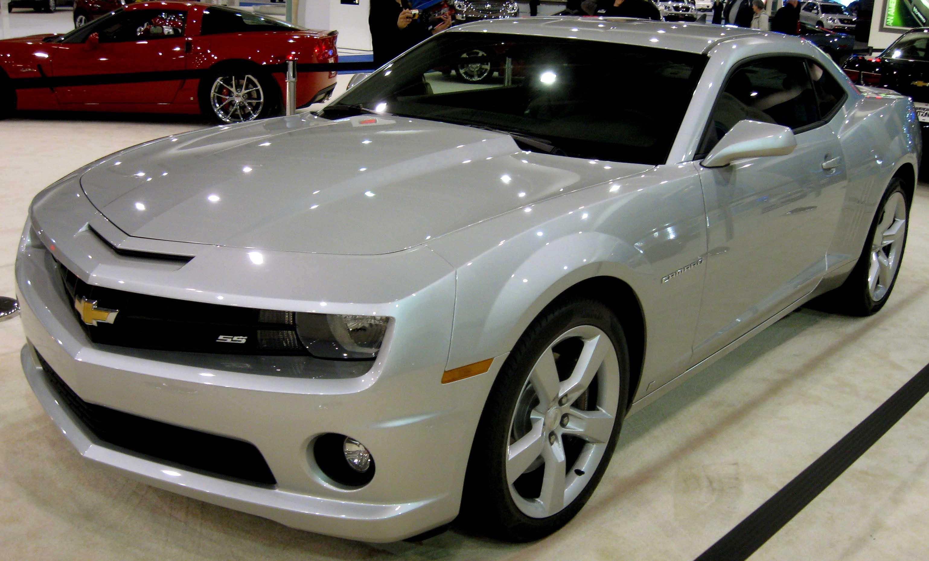 File:2010 Chevrolet Camaro SS DC