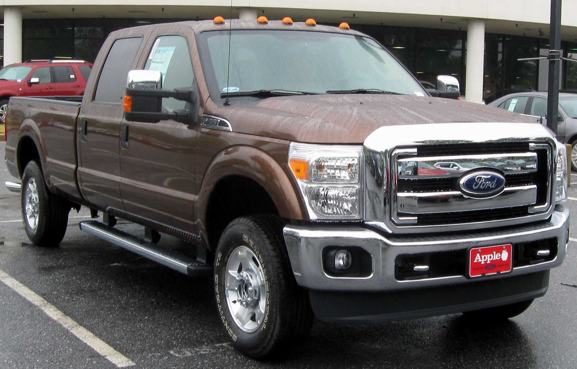 Description 2011 Ford F-250 XLT -- 07-10-2010.jpg
