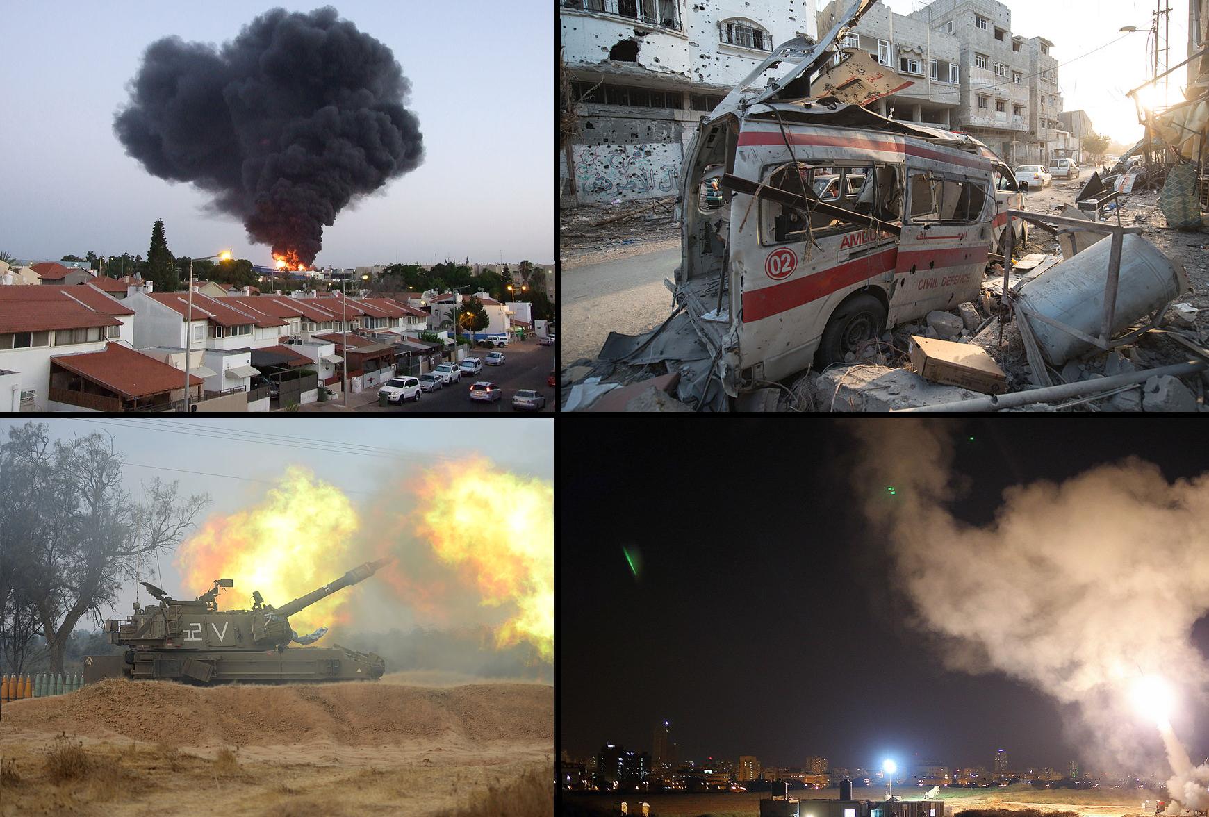 Conflicto entre la Franja de Gaza e Israel de 2014 - Wikipedia, la  enciclopedia libre