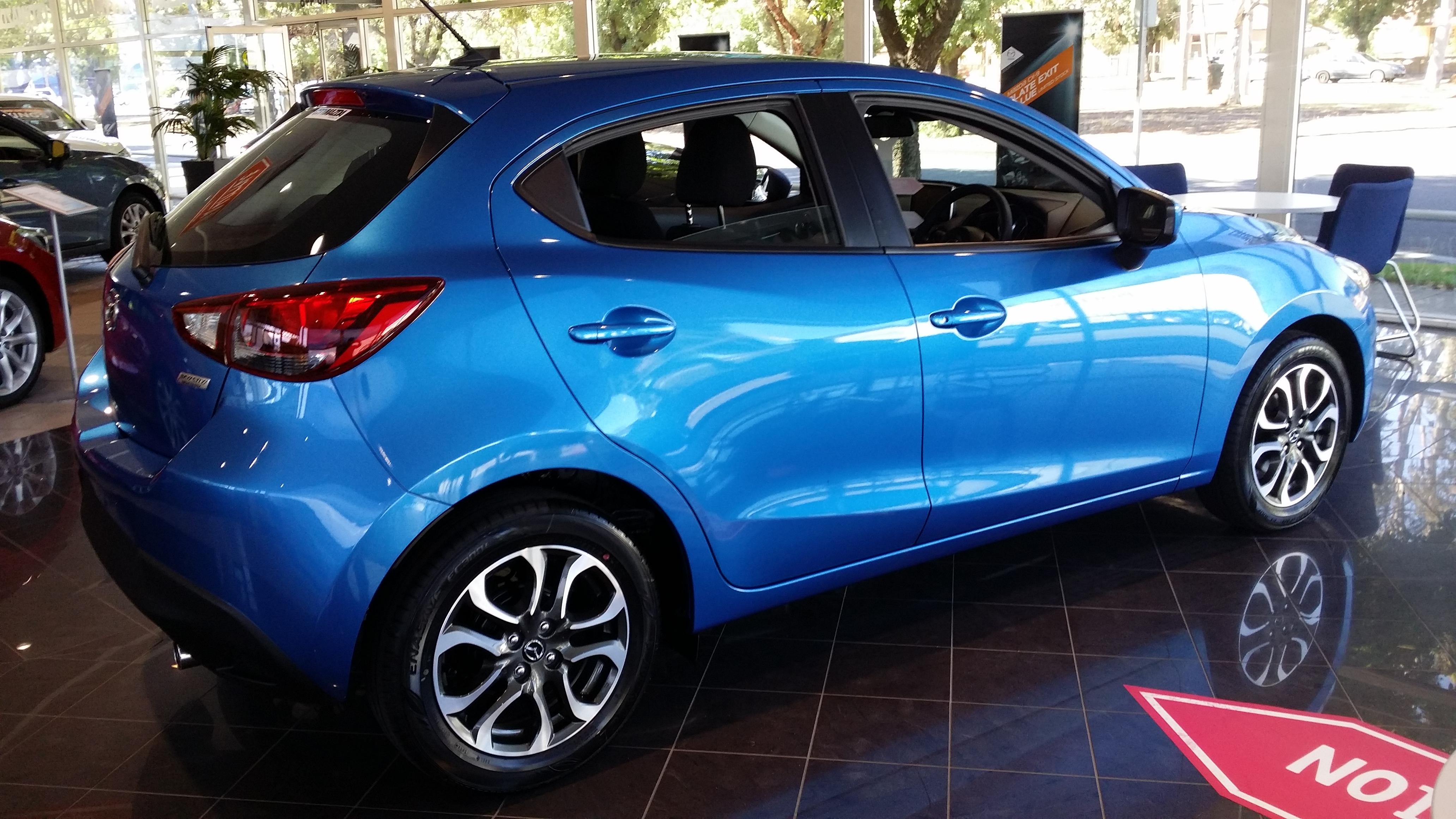 Mazda 2 genki hatch