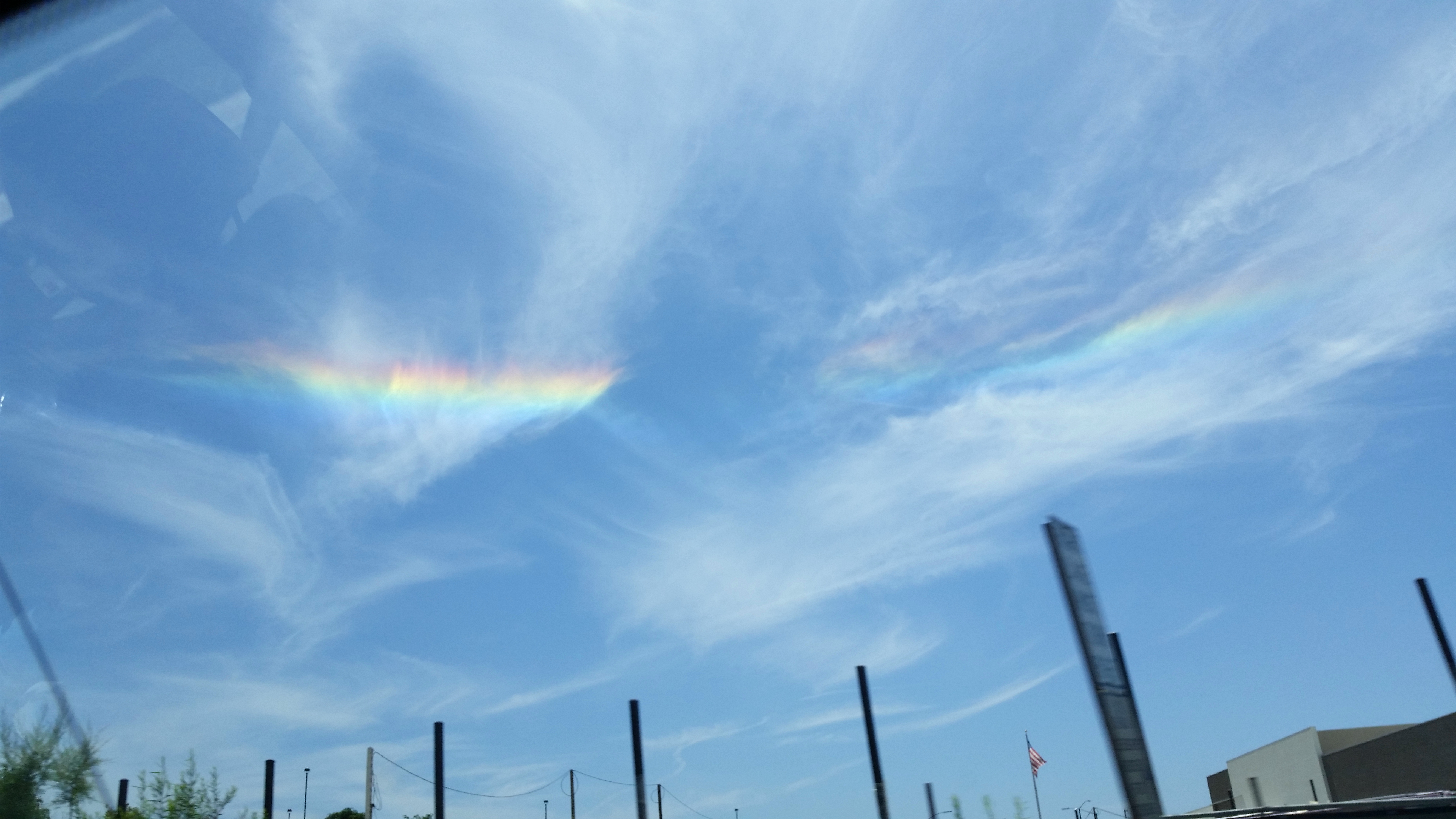file a rainbow cloud band on june 1 2014 part of a