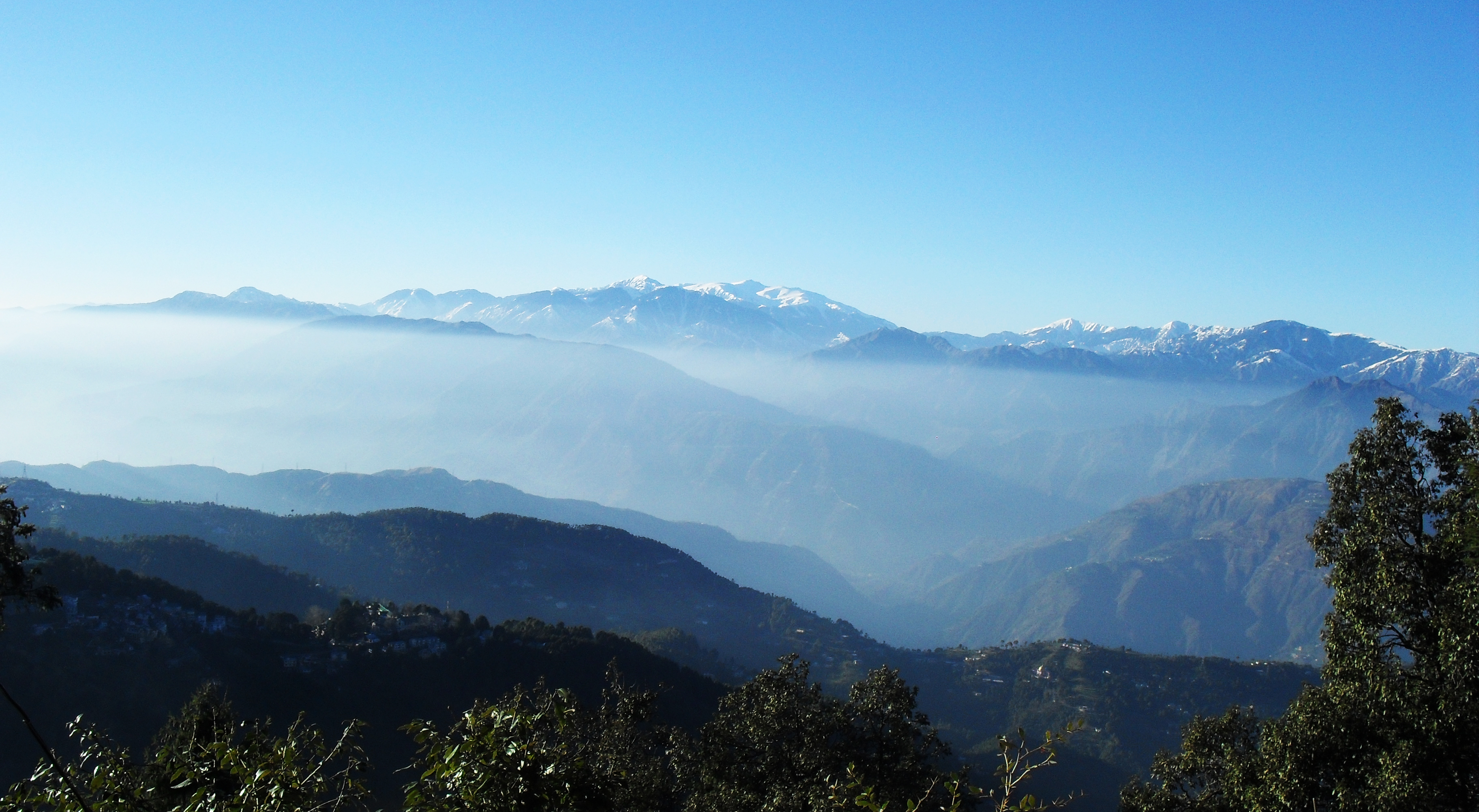 Himalayan ranges from Dalhousie