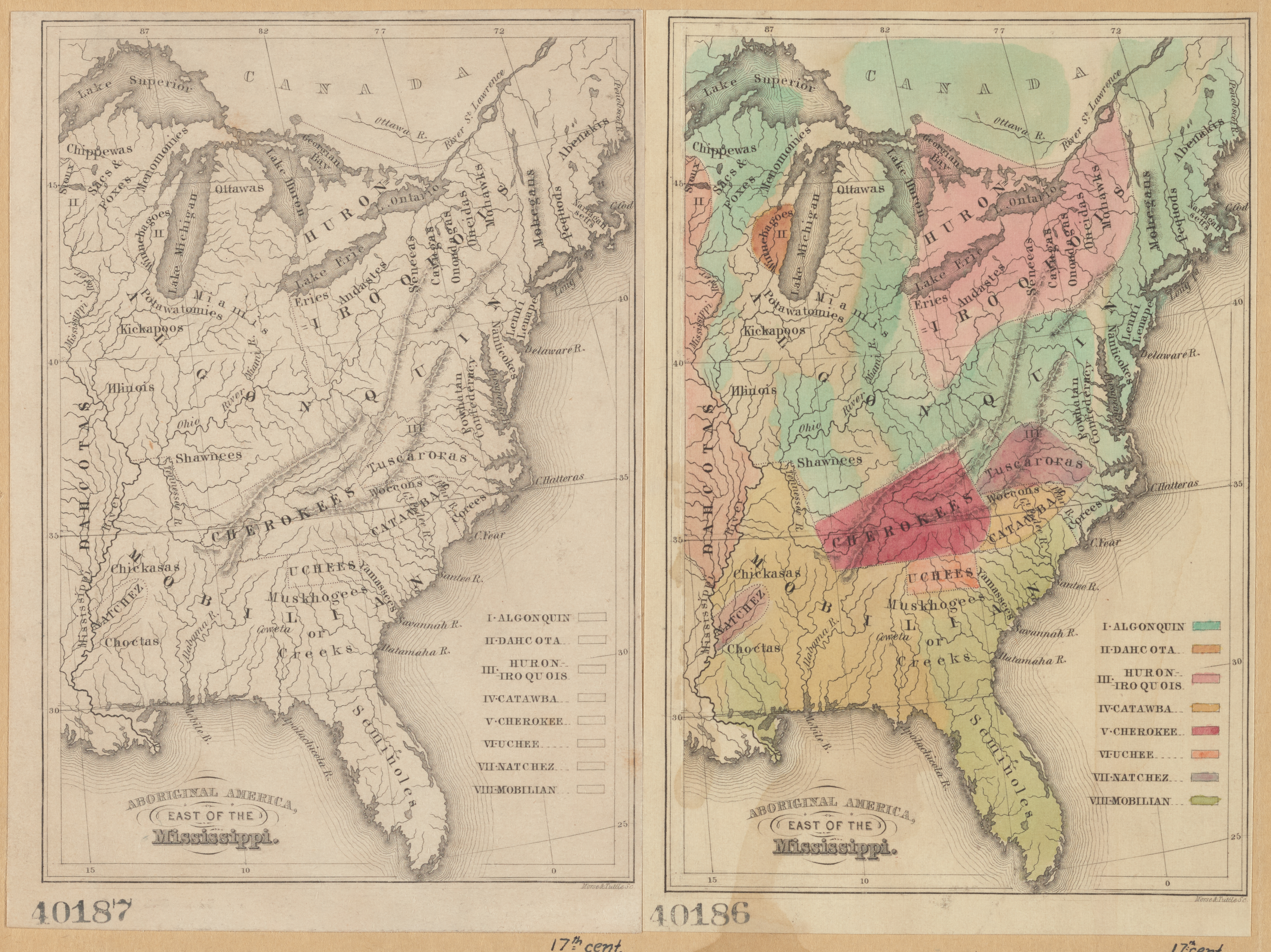 Map Of America East.File Aboriginal America East Of The Mississippi Nypl